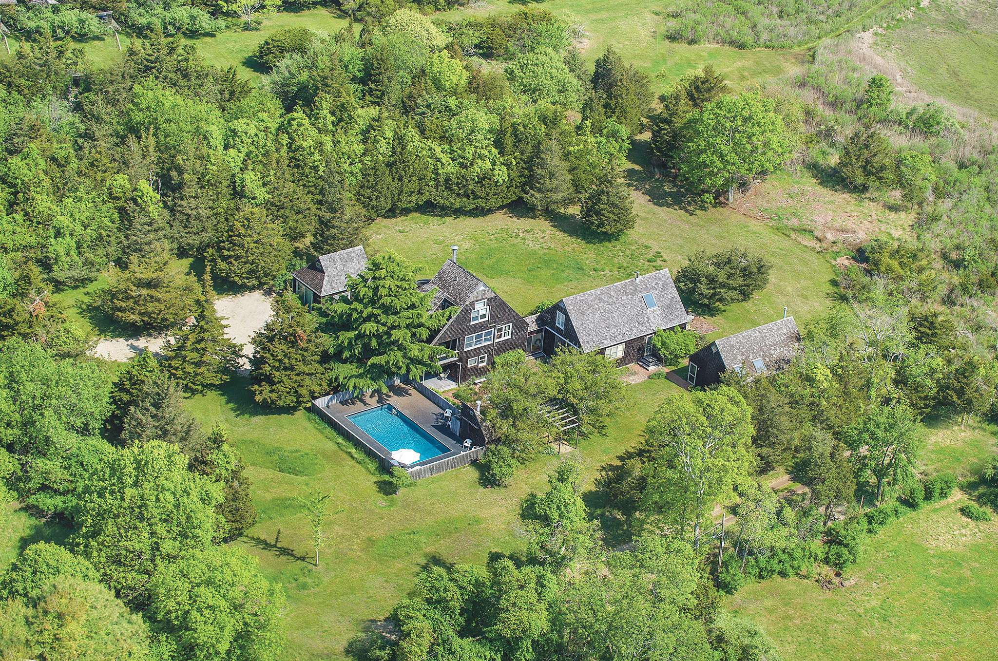 Single Family Home for Sale at Waterfront Published Home With 2 Artist Studios 1006 Springs Fireplace Road, East Hampton, New York