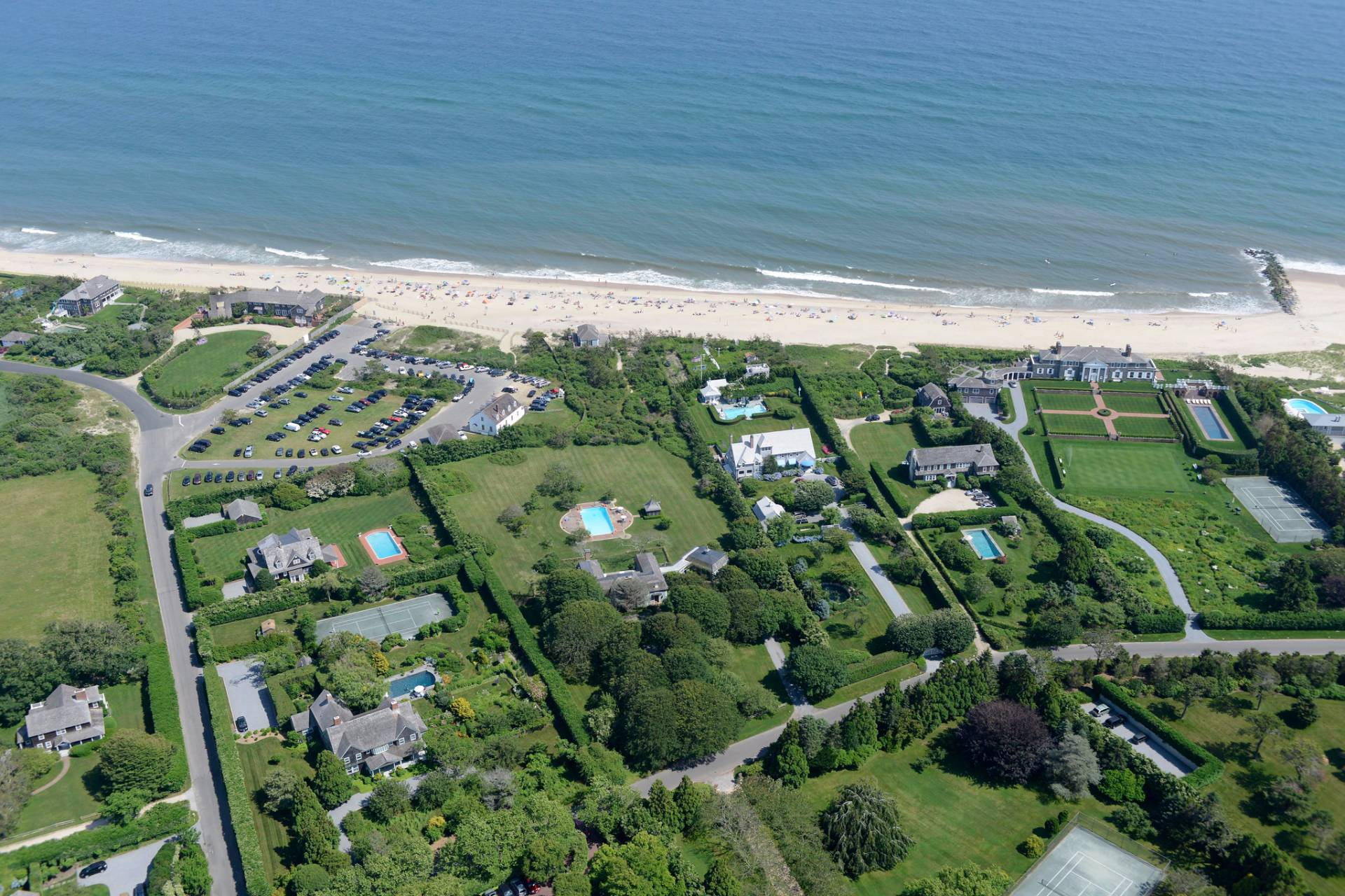 Single Family Home for Sale at Top Location, East Hampton Oceanfront,Very Exclusive Area East Hampton, New York