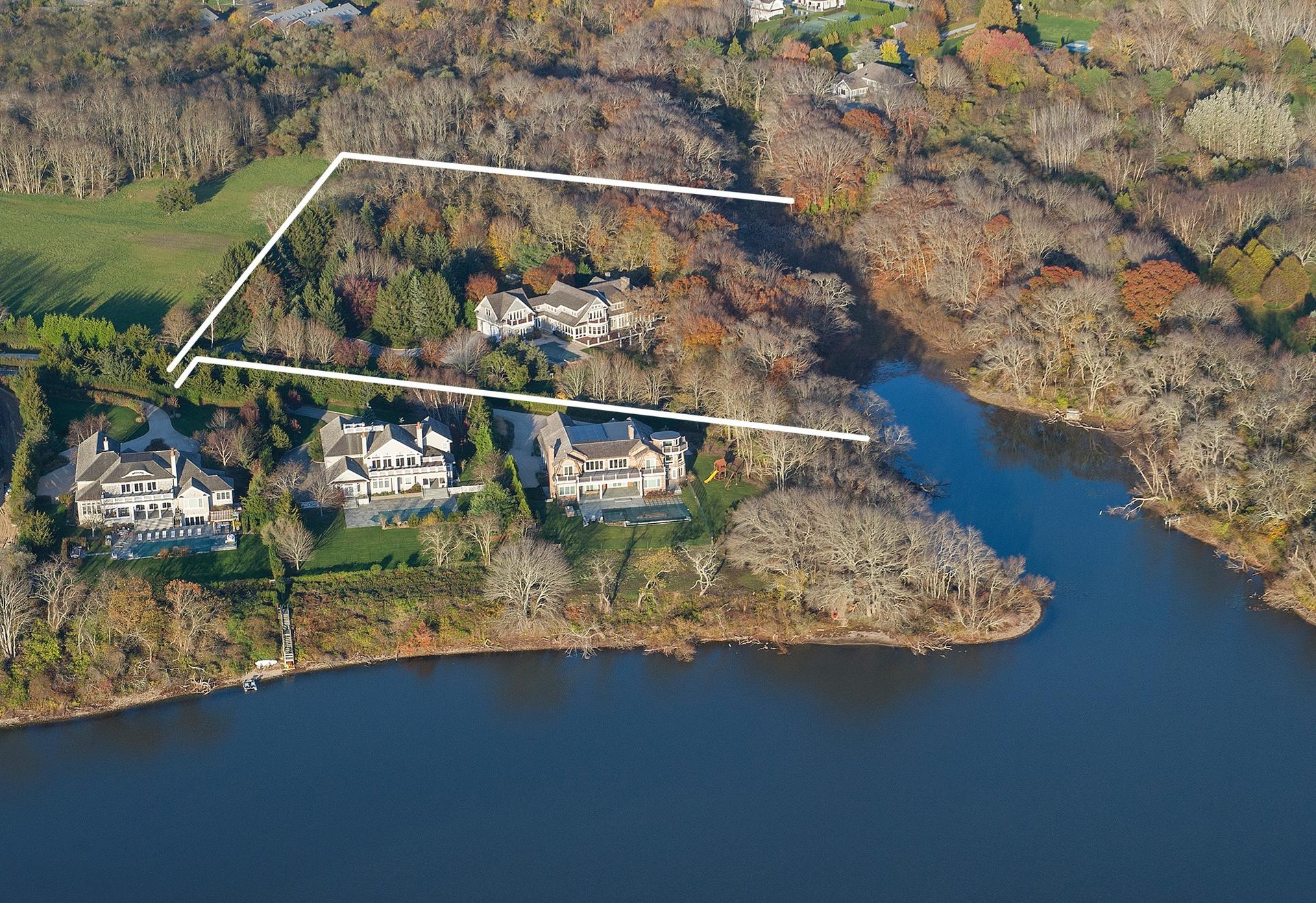 Single Family Home for Sale at Bridgehampton South Of Highway Waterfront Estate 23 Kellis Pond Way, Bridgehampton, New York