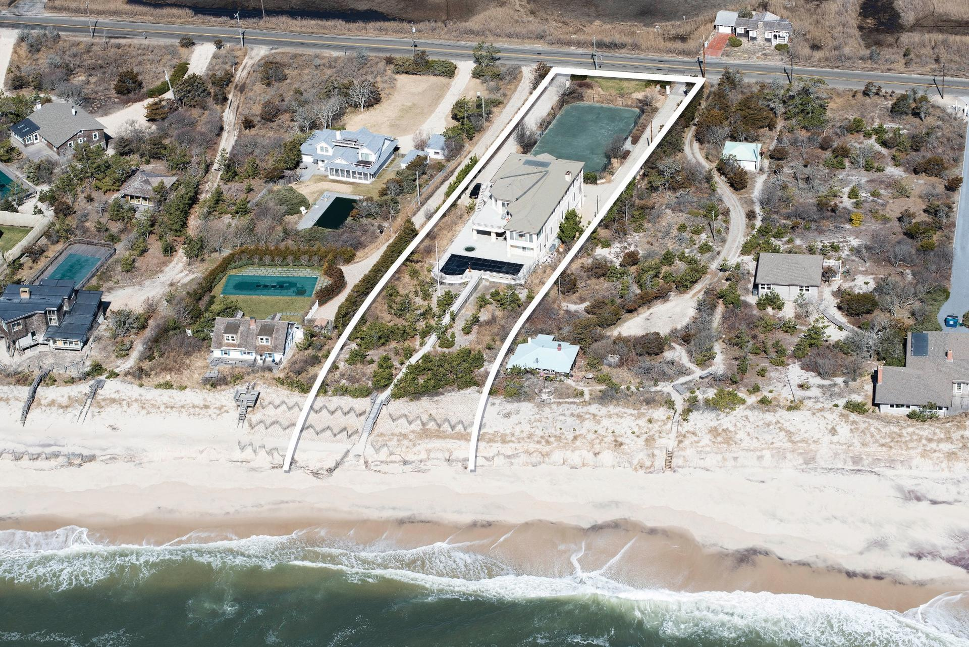 Single Family Home for Sale at Exceptional Quogue Oceanfront Quogue, New York