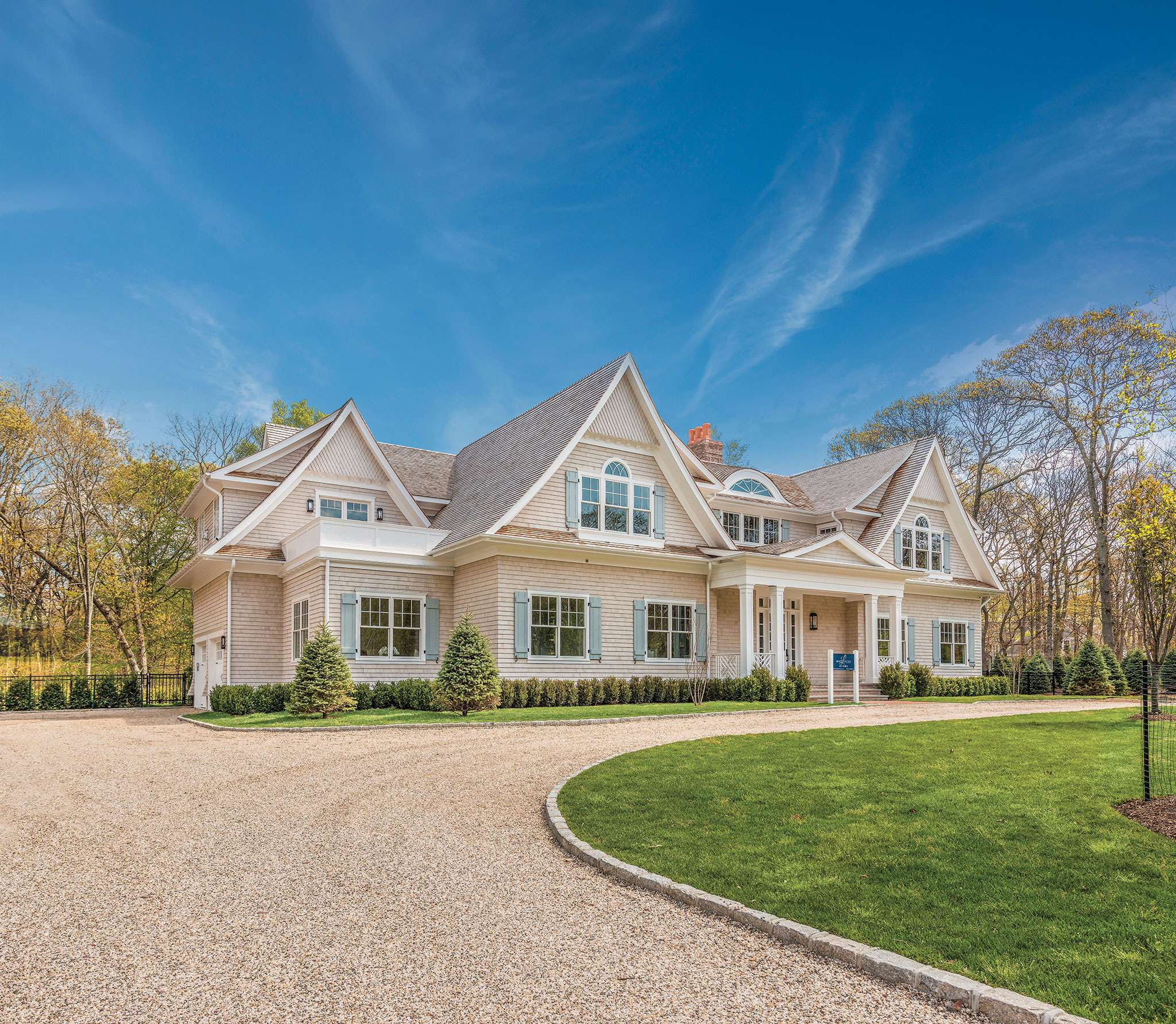 Single Family Home for Sale at 3.5 +/- Acre North Haven Point Estate 5 Blue Heron Way, Sag Harbor, New York