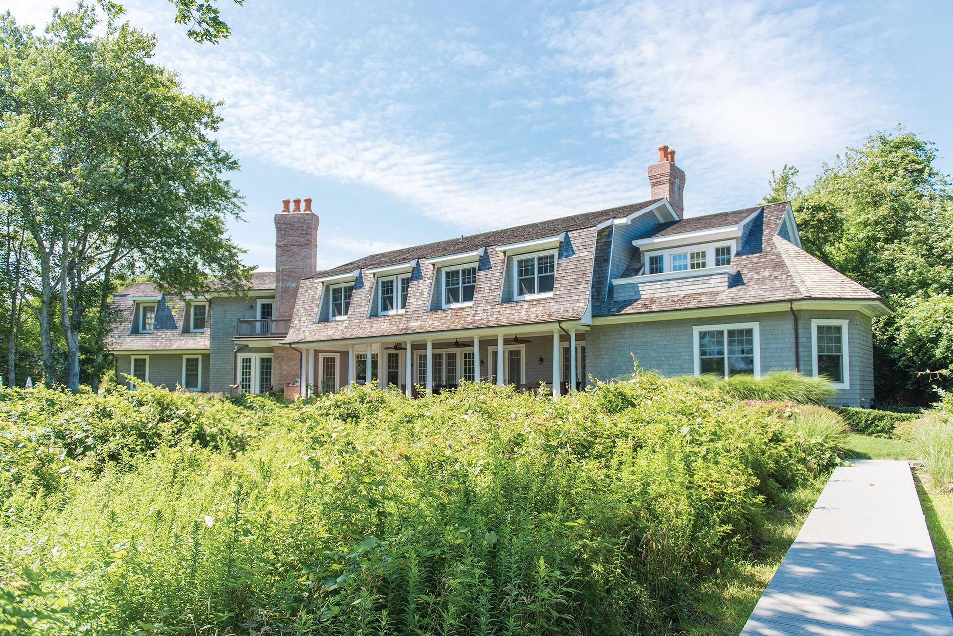 Single Family Home for Sale at Waterfront With Dock In Sagaponack South Sagaponack, New York