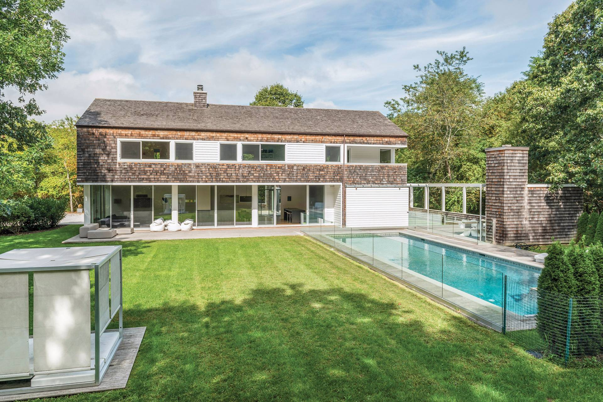 Single Family Home for Sale at Modernist Bridgehampton Horse Country Compound 196 Meadows West, Bridgehampton, New York