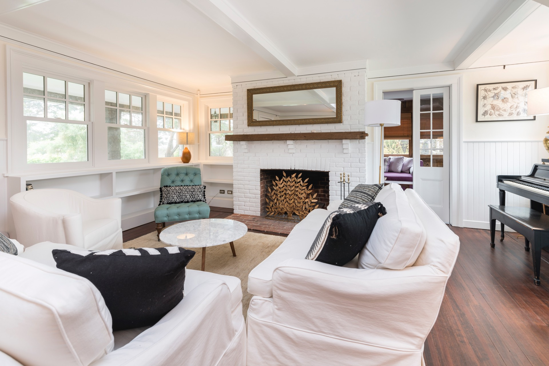 Additional photo for property listing at Lofty Sea Breezes On Bluff Road  Amagansett, Nueva York