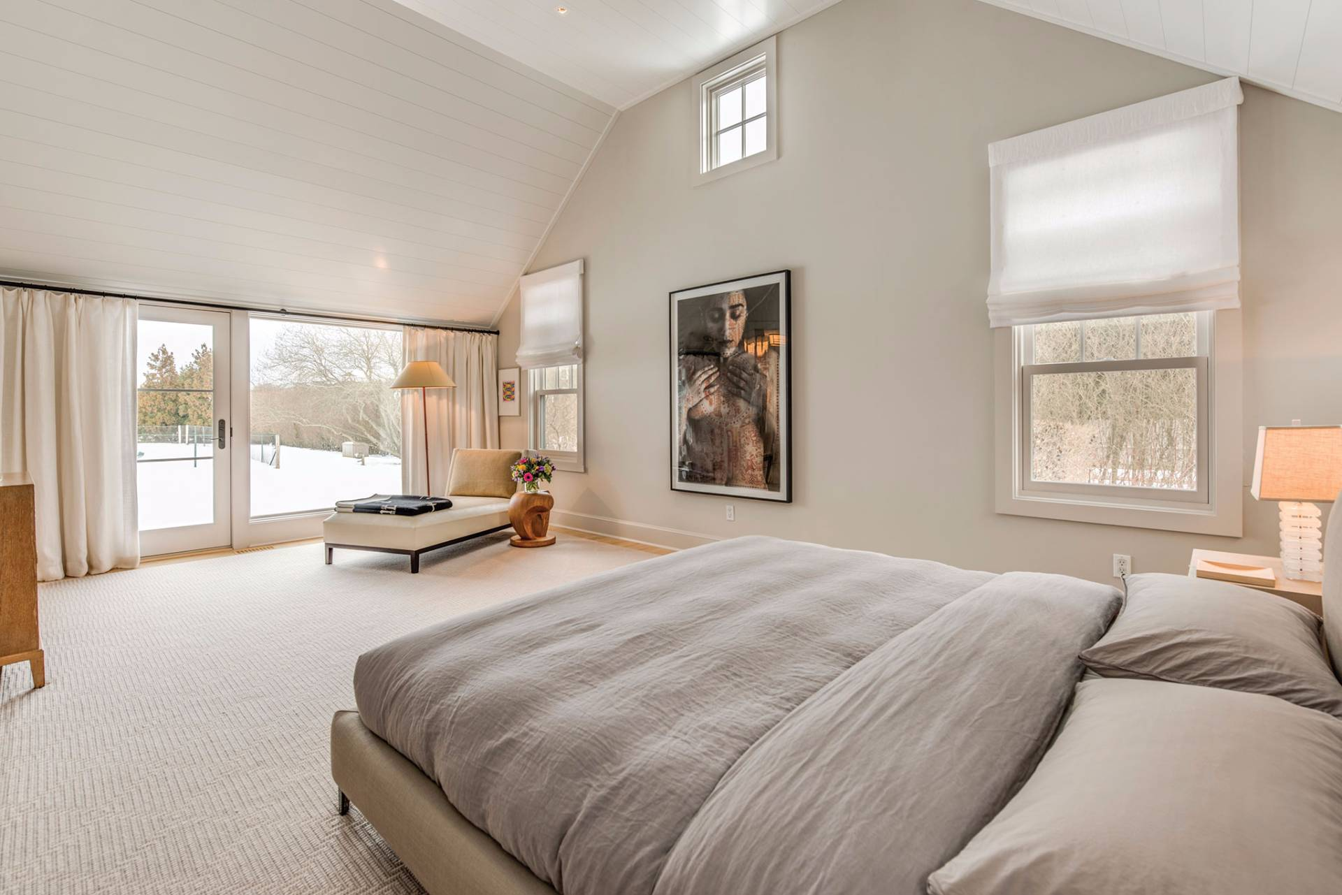 Additional photo for property listing at Chic Designers Retreat With Forever Views 379 Mitchells Lane,  Bridgehampton, New York