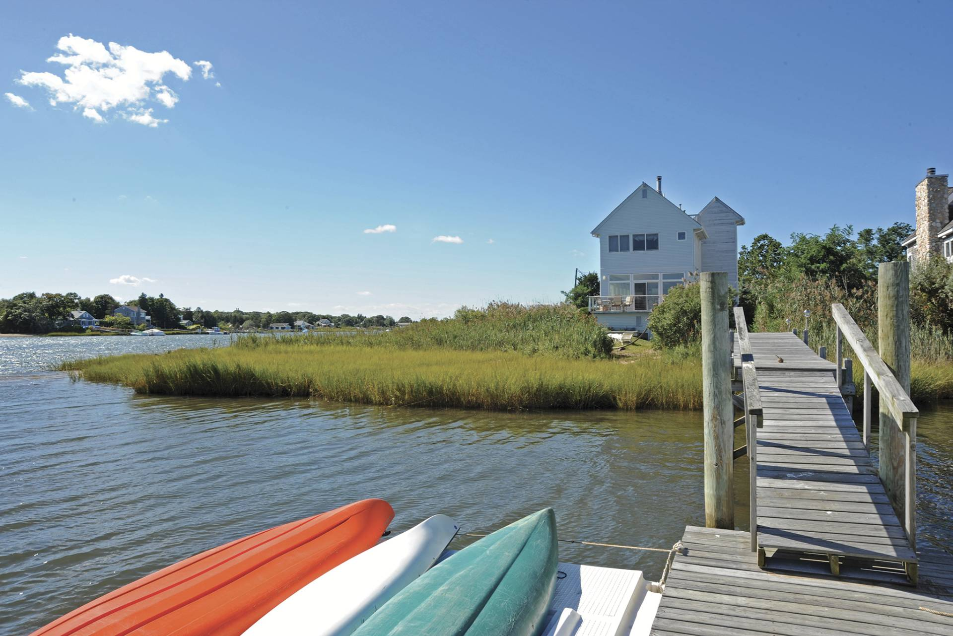 Additional photo for property listing at Waterfront Gem In The Village Of Sag Harbor  Sag Harbor, New York