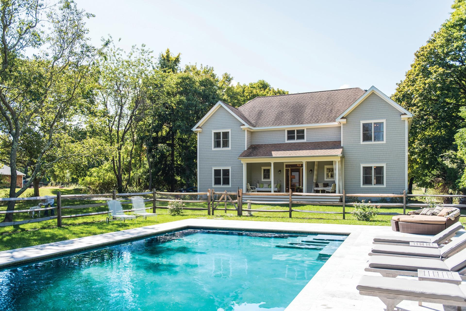 Single Family Home for Rent at Stlyish Shelter Island With Pool And Dock Shelter Island, New York