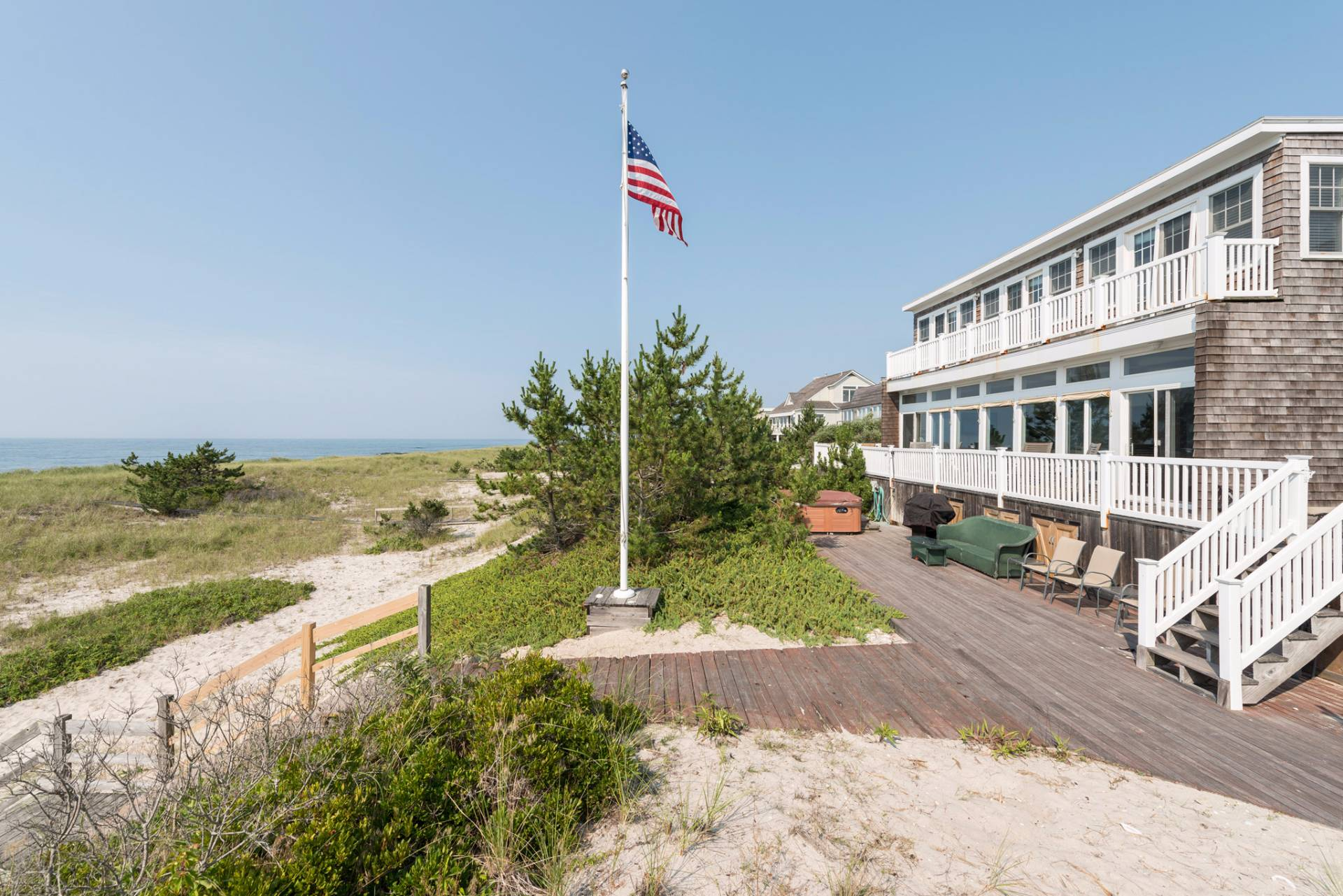 Single Family Home for Sale at Classic Hamptons Oceanfront Westhampton Beach, New York