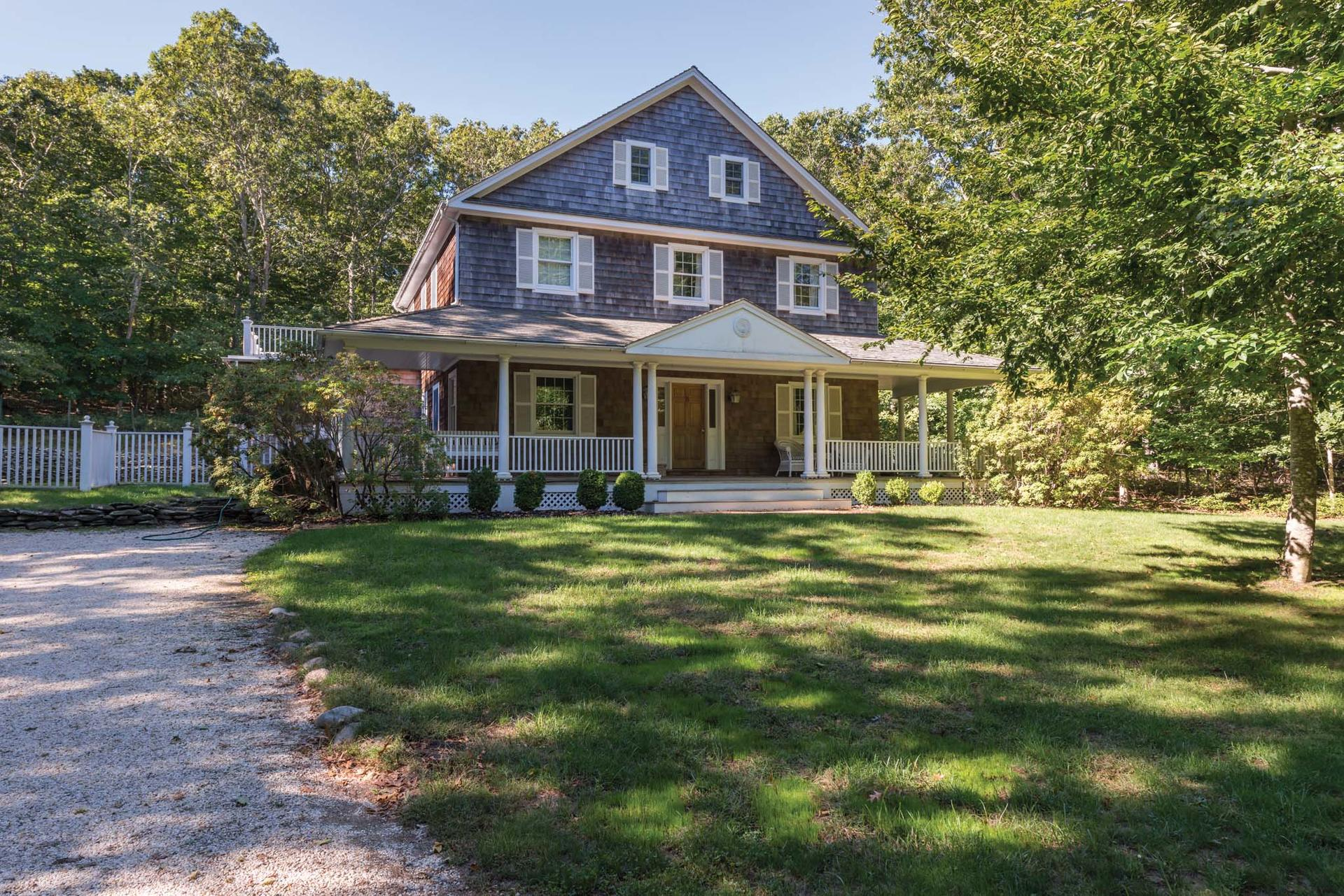 Single Family Home for Sale at Amagansett Bell Estate 6 Phelan Court, Amagansett, New York