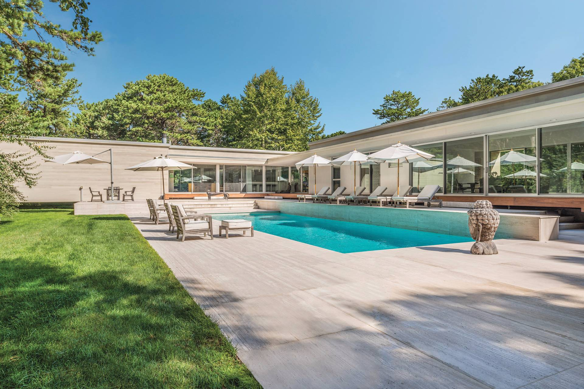 Single Family Home for Sale at Reduced Live In Your Art A Modern Masterpiece In Sagaponack 25 Forest Crossing, Sagaponack, New York