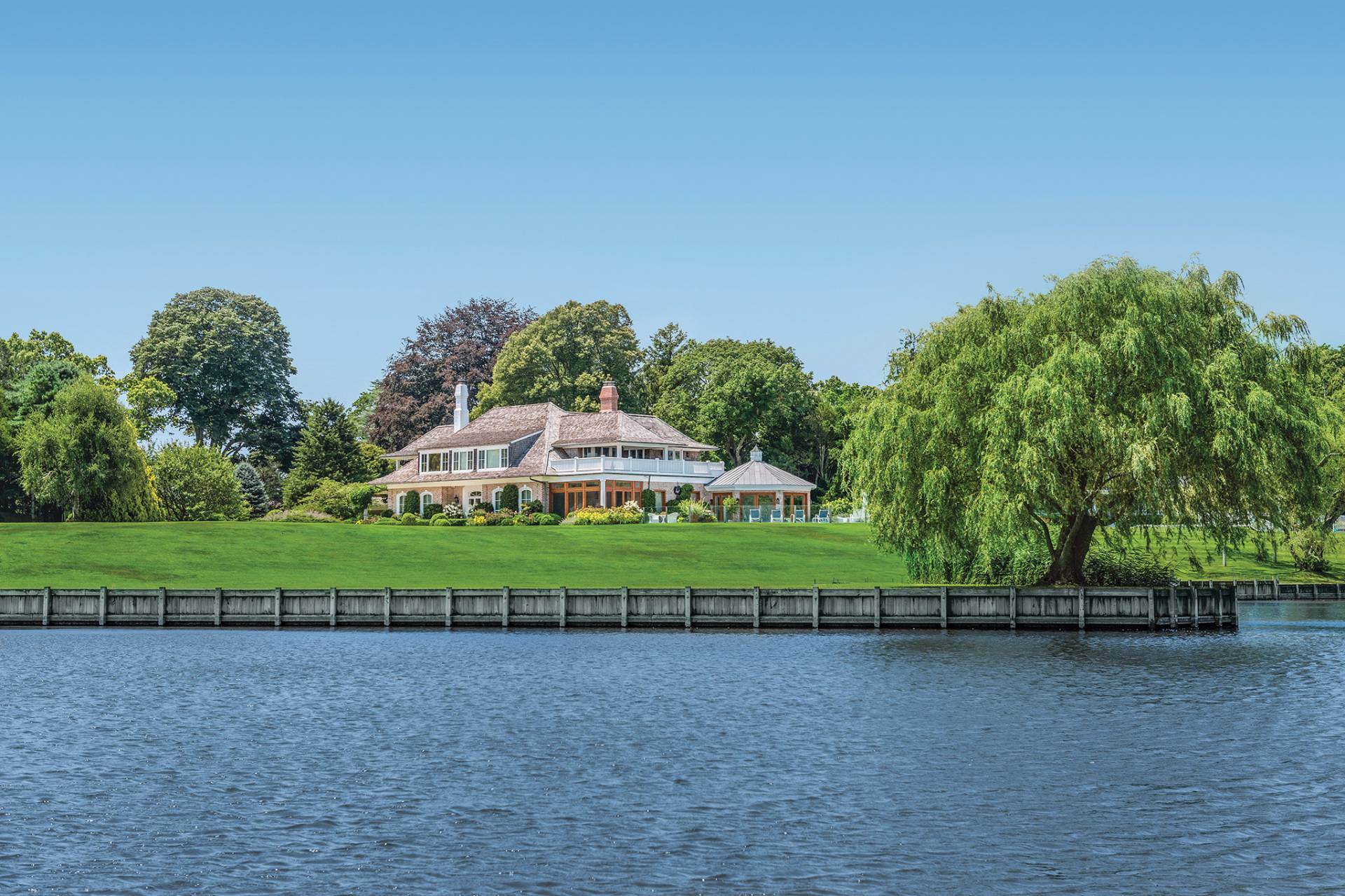 Single Family Home for Sale at Huge Price Reduction - Magnificent Mecox Bay Waterfront Estate 33 Mecox Lane, Water Mill, New York