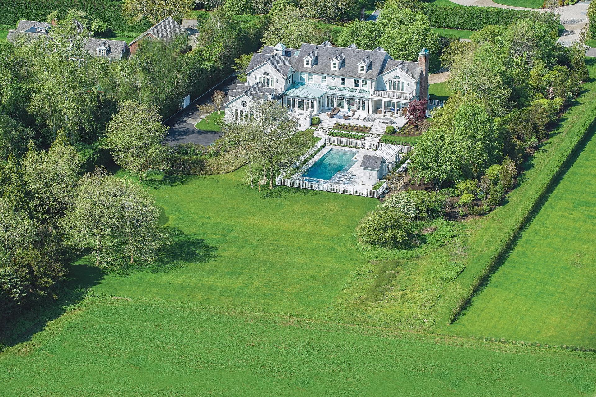 Single Family Home for Sale at Exceptional Sagaponack Village Near Beach 99 Fairfield Pond Lane, Sagaponack, New York