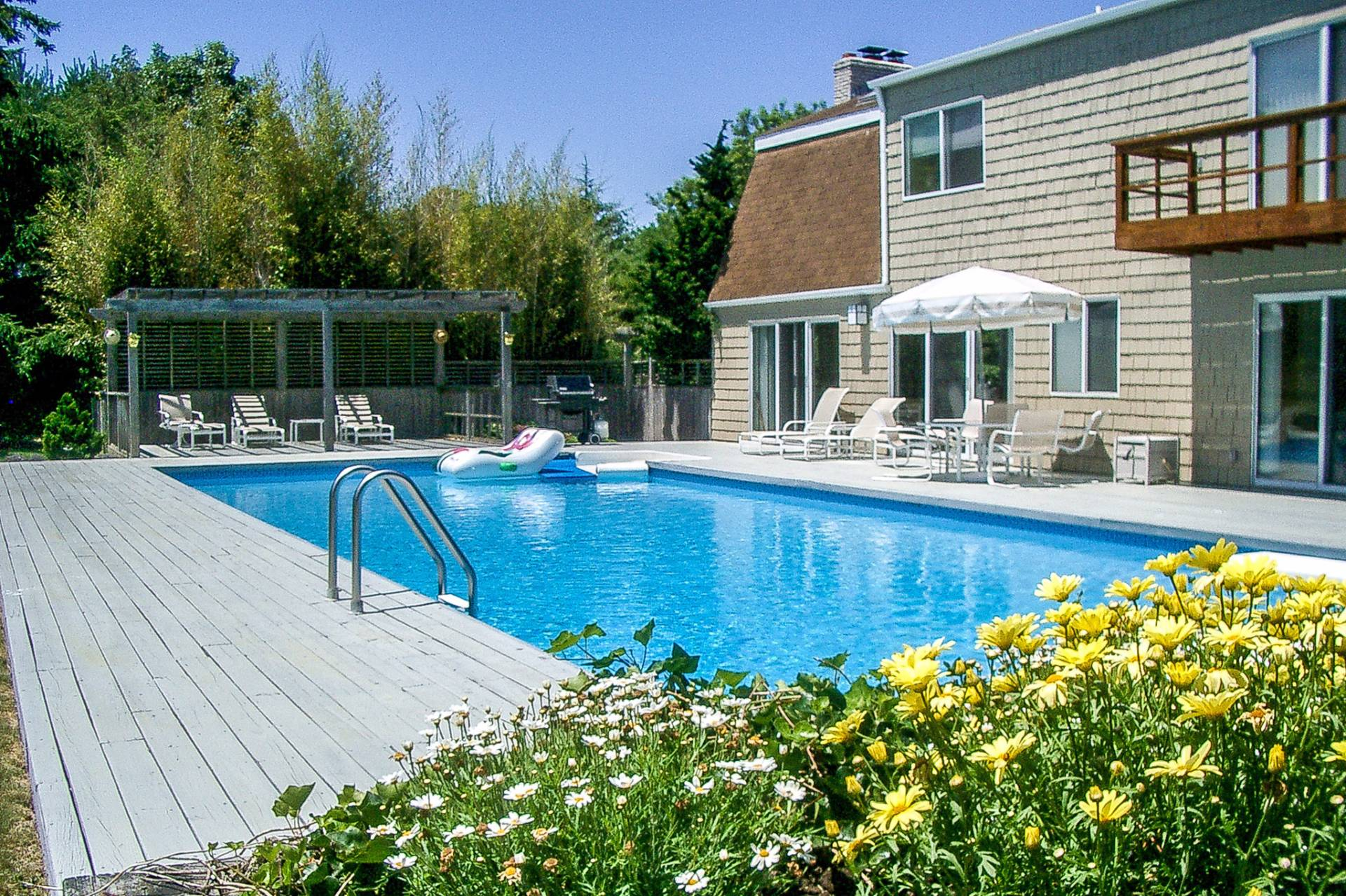 Single Family Home for Rent at Flooded With Sunlight In Water Mill Water Mill, New York