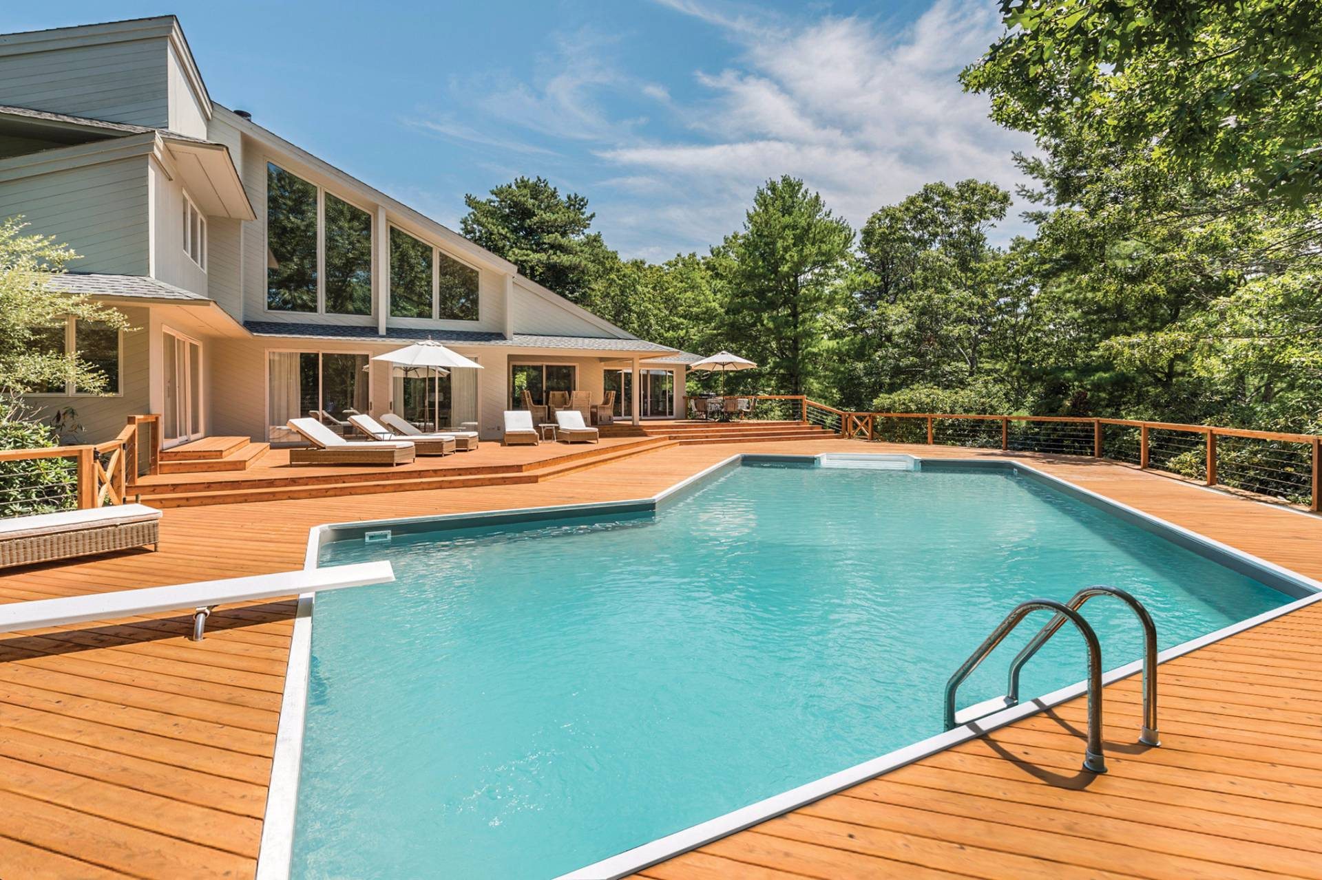 Single Family Home for Sale at Modern Luxury In Water Mill On 4 Acres With Tennis Water Mill, New York