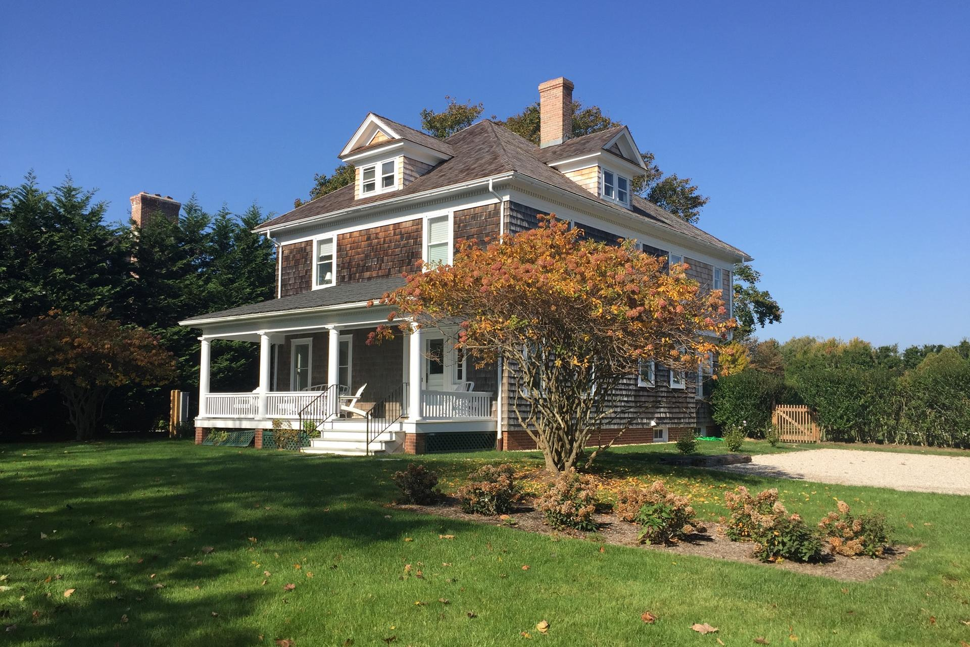 Single Family Home for Rent at Newly Updated Original Farmhouse Sagaponack, New York