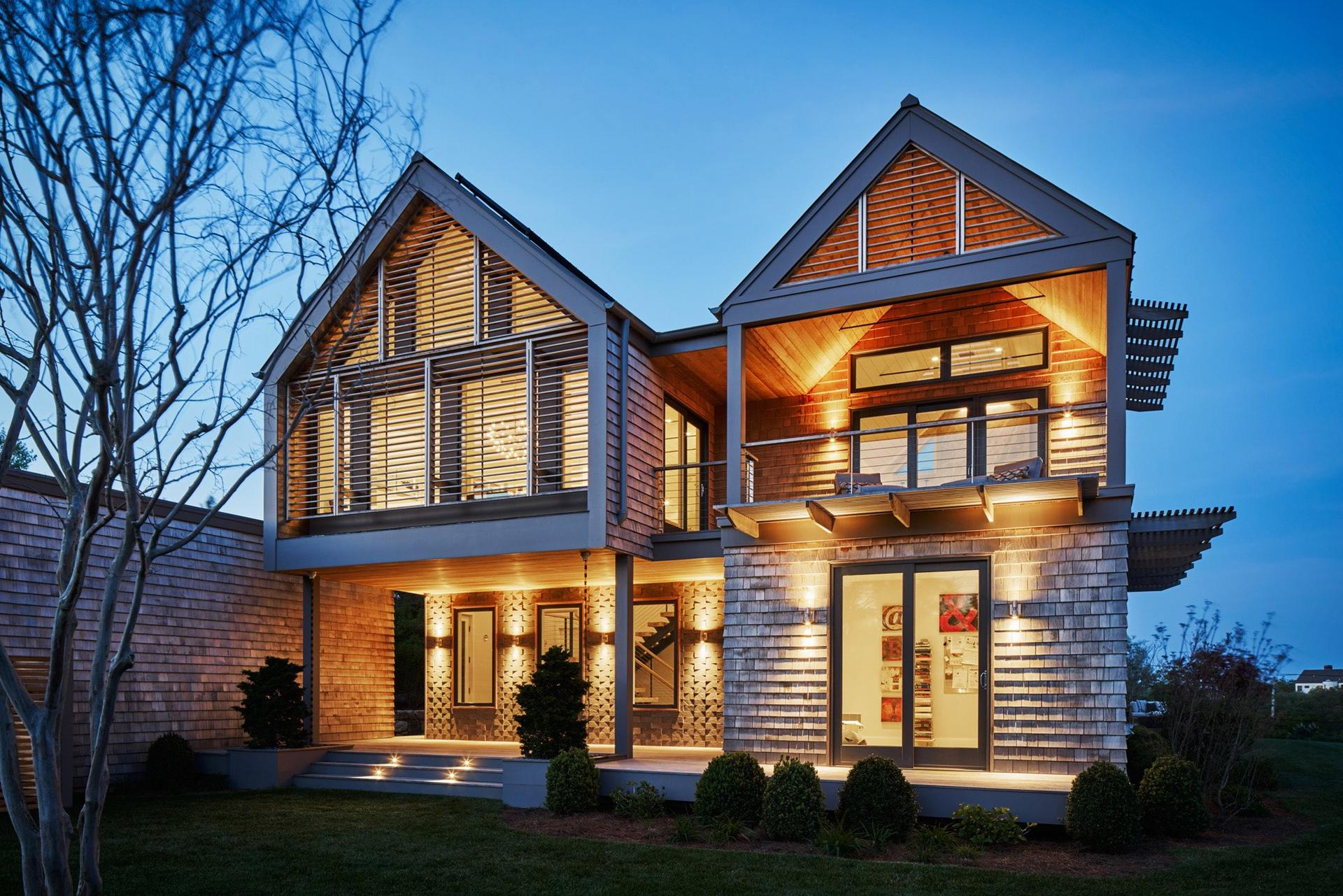 Single Family Home for Sale at Incredible New Montauk Modern With Oceanviews Montauk, New York