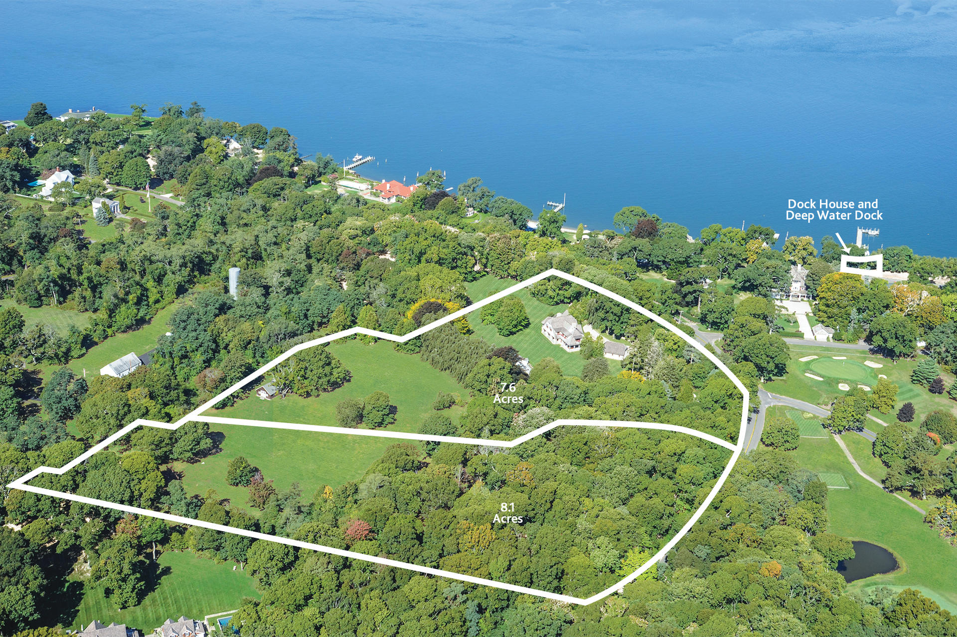 Single Family Home for Sale at Historic Shelter Island Estate Nearly 20% Of The Village 31 Manhanset Road, Shelter Island, New York