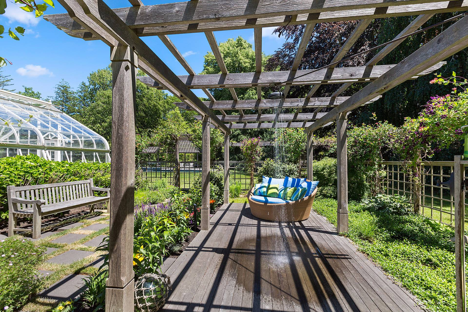 Additional photo for property listing at Historic Shelter Island Estate Nearly 20% Of The Village 31 Manhanset Road,  Shelter Island, New York