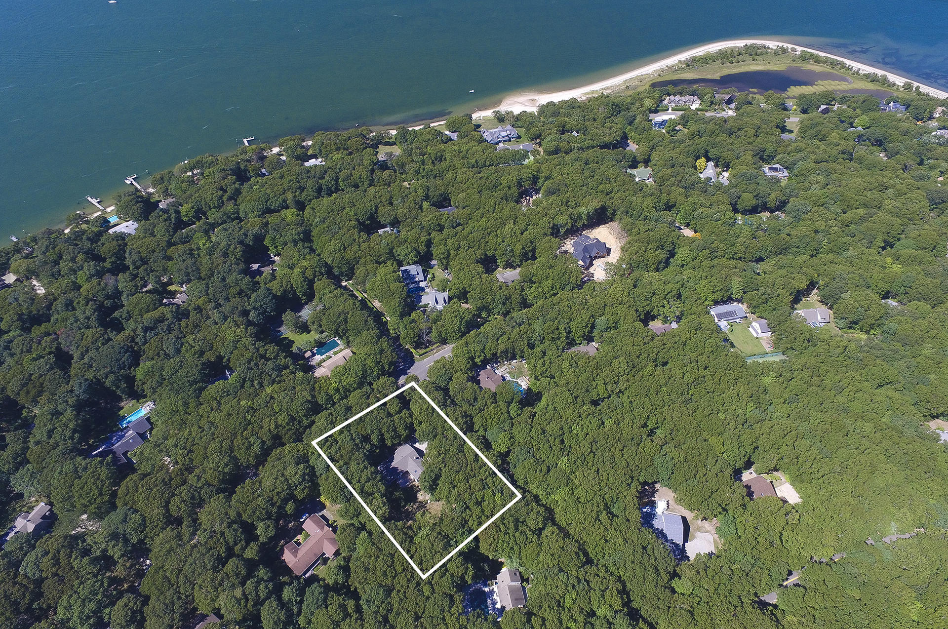 Single Family Home for Sale at Shelter Island Turnkey On 1.2 Acres 14 Great Circle Drive, Shelter Island, New York