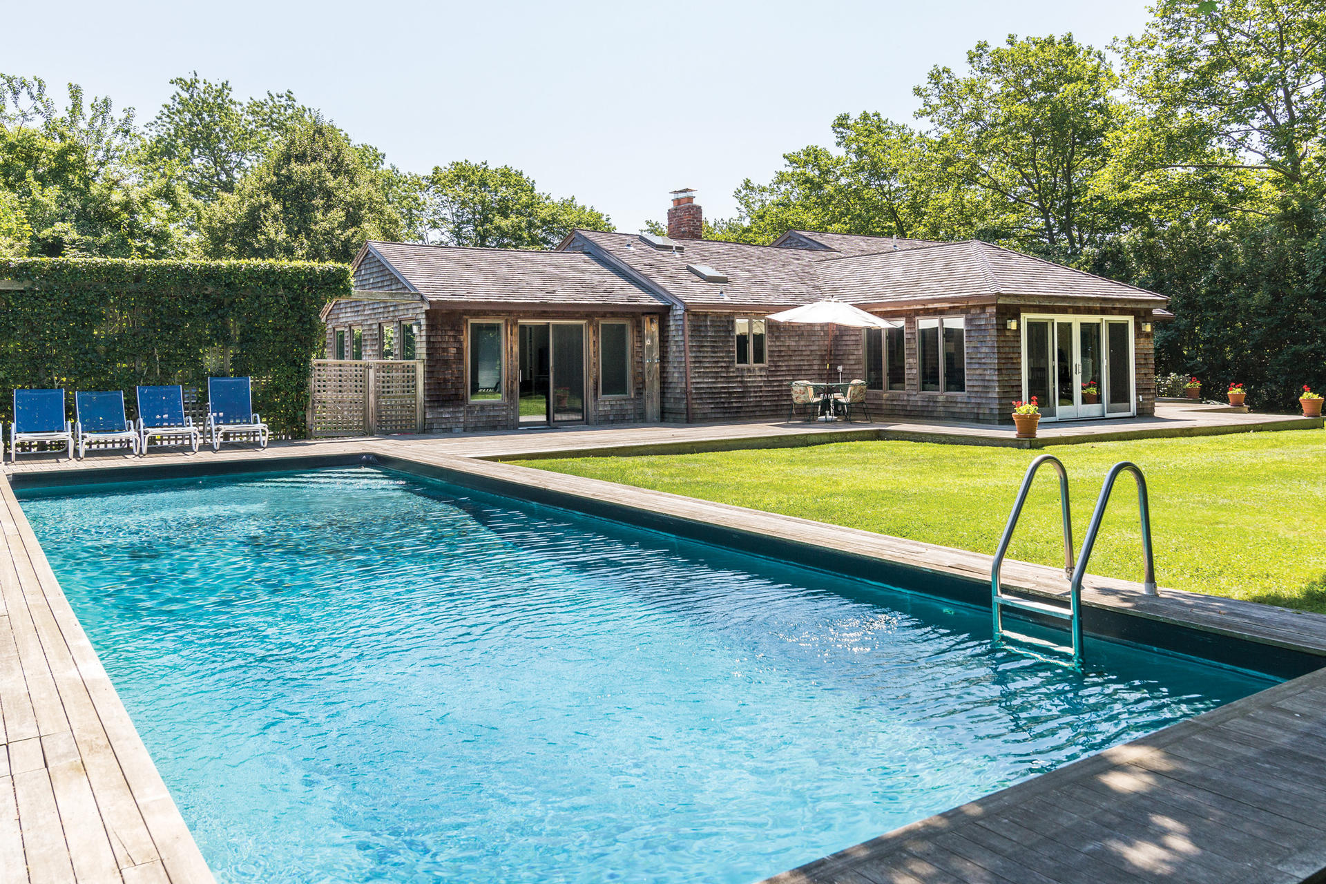 Single Family Home for Sale at South, Village, Ocean = Location, Location, Location! 242 Ocean Road, Bridgehampton, New York