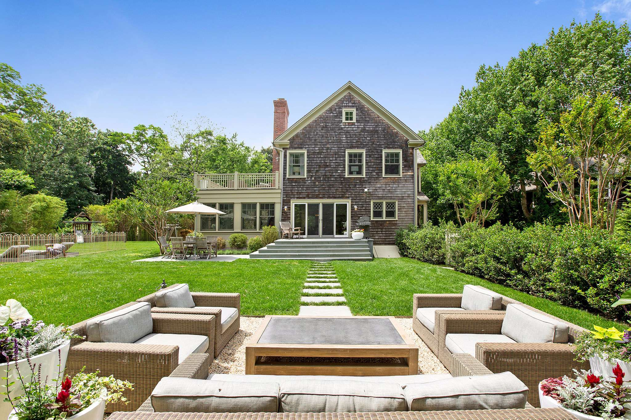 Single Family Home for Sale at A Sag Harbor Home For All Seasons. Sag Harbor, New York