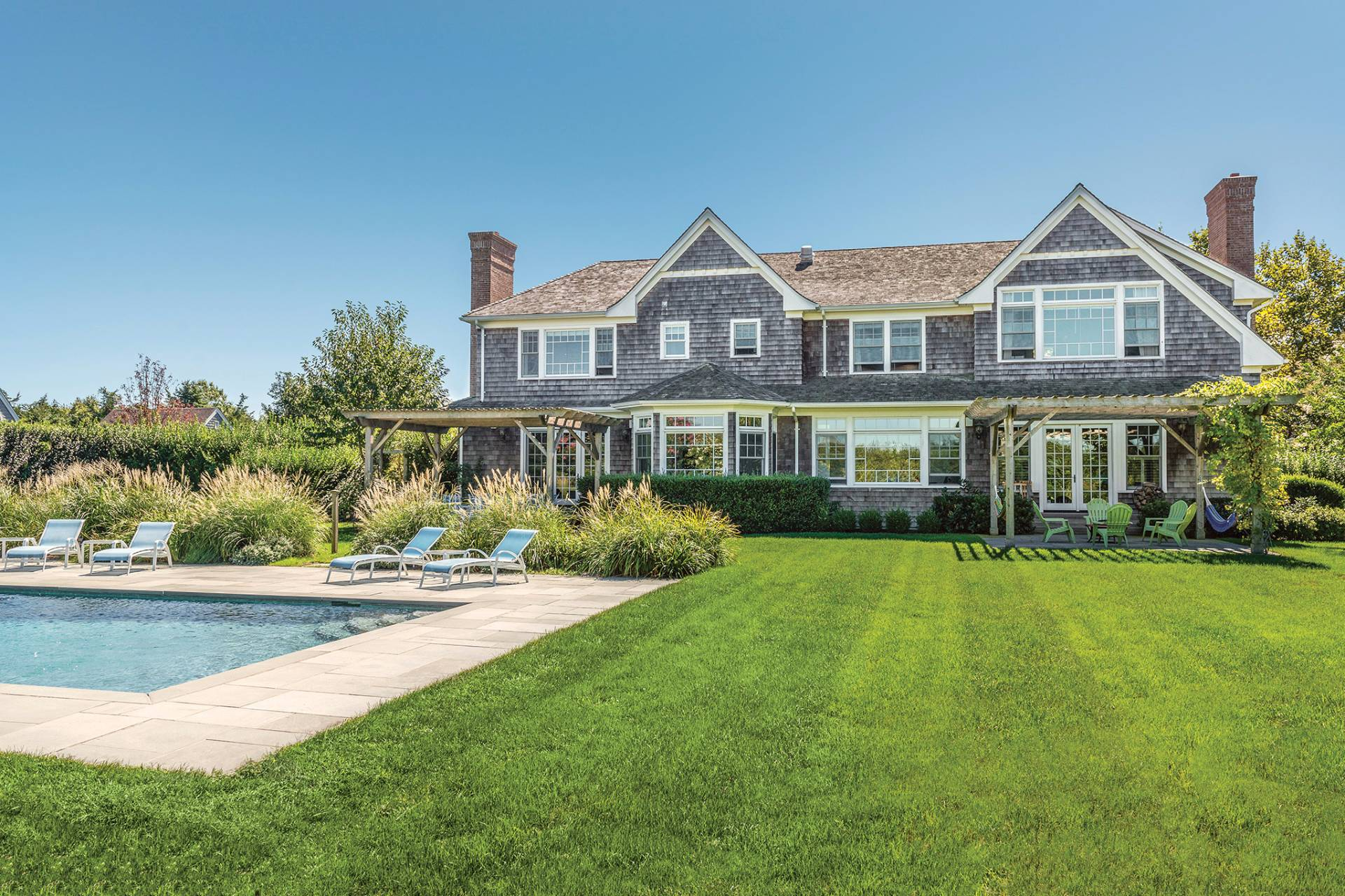 Single Family Home for Sale at Classic Sagaponack With Tennis 34 Herb Court, Sagaponack, New York