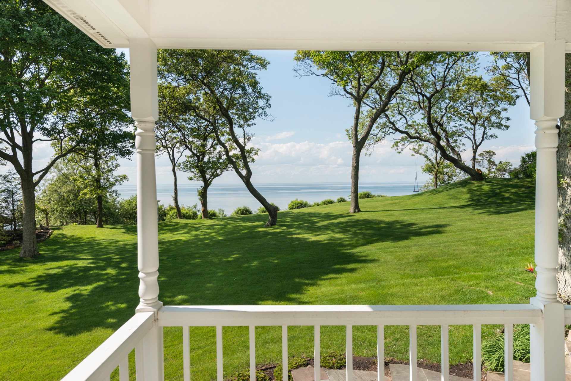 Additional photo for property listing at Majestic Property Overlooking Long Island Sound 35 Soundview Drive,  Shoreham, New York