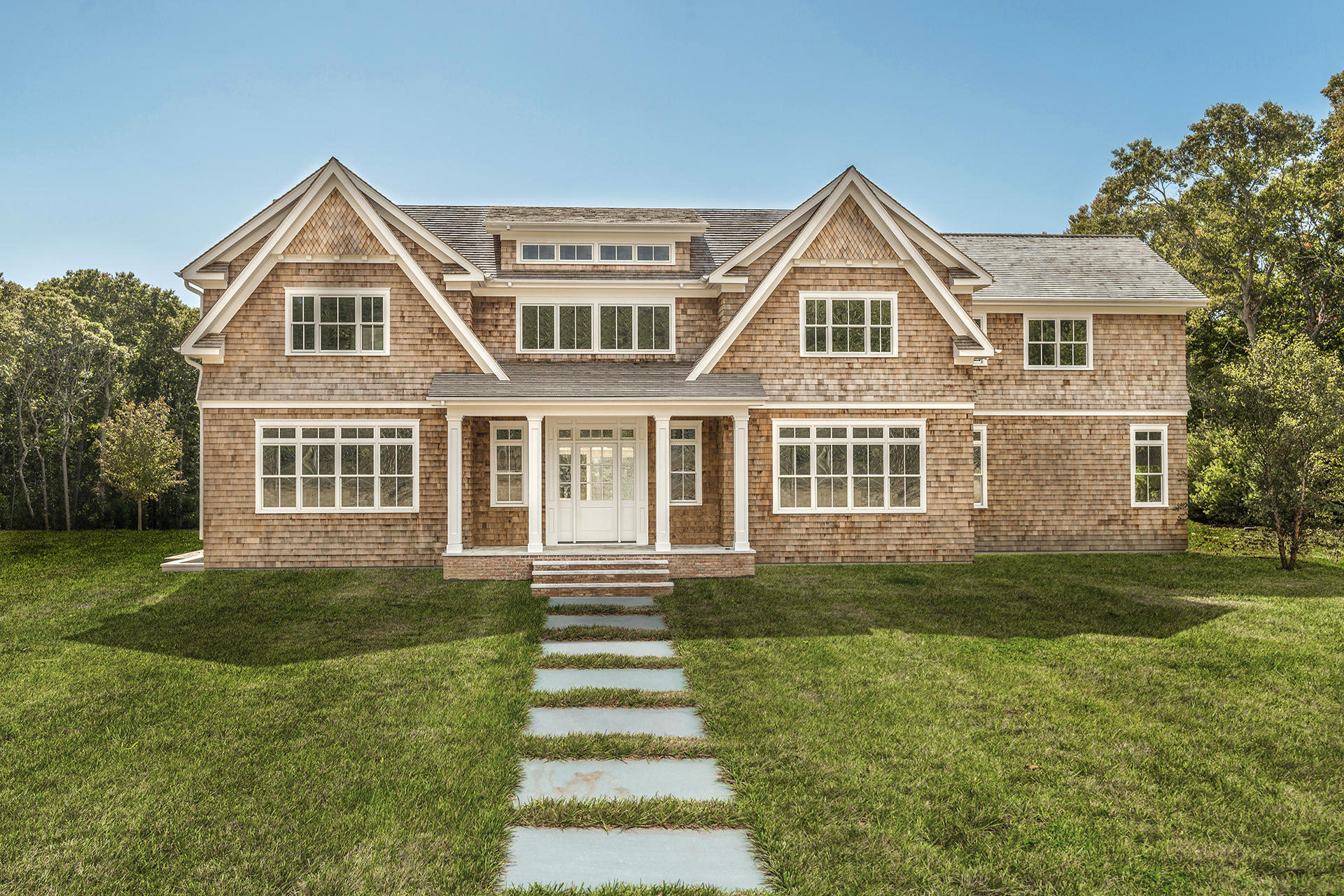 Single Family Home for Sale at New Private, Gated Estate In Southampton 338 Edge Of Woods Road, Water Mill, New York