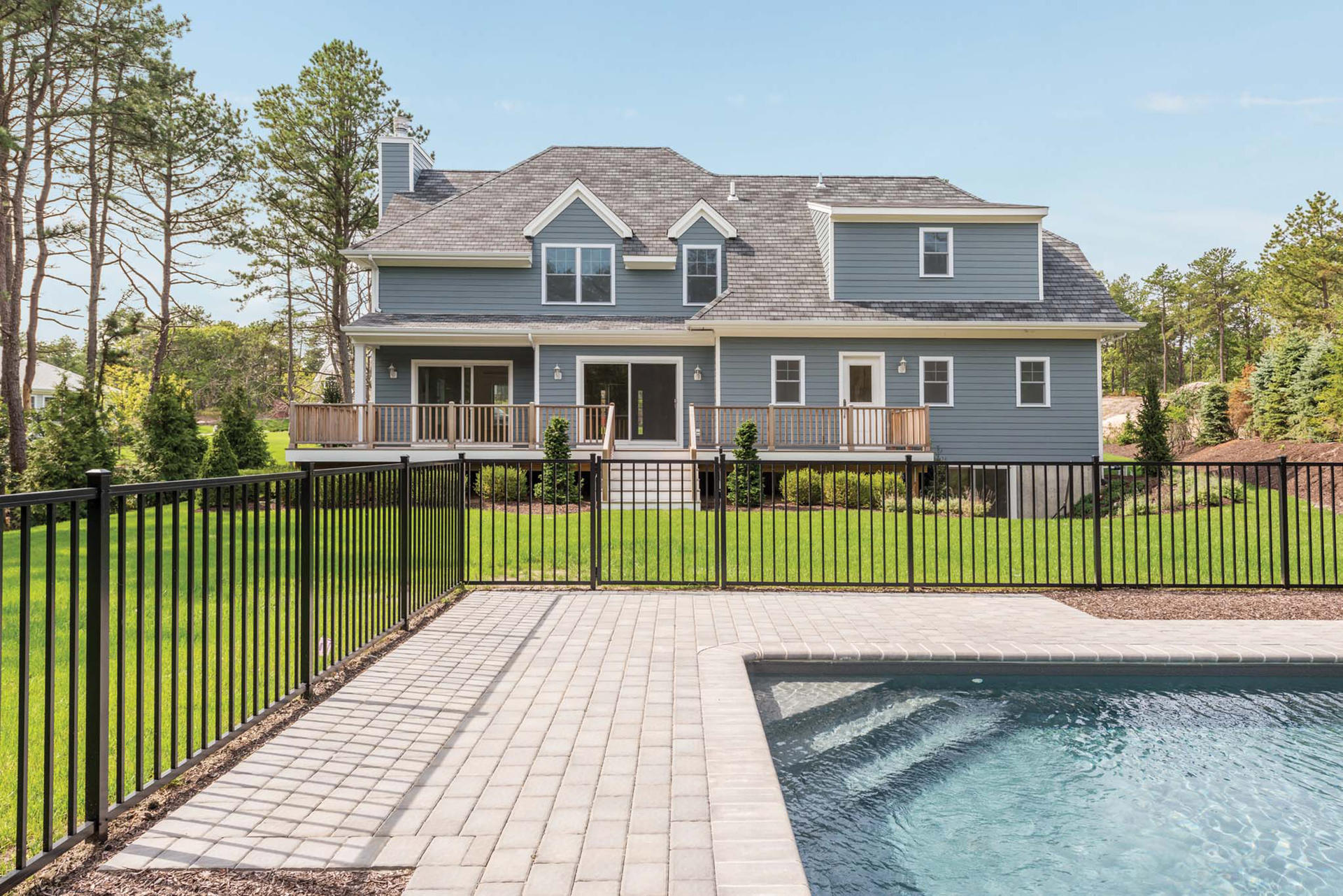 Single Family Home for Sale at Stunning New Construction W/Pool & Finished Basement Westhampton Beach, New York