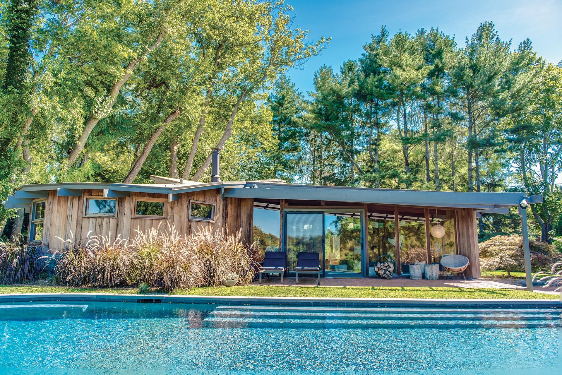 Single Family Home for Sale at Shelter Island East Meets West Modernist Pond Front 15-17 Congdon Road, Shelter Island, New York