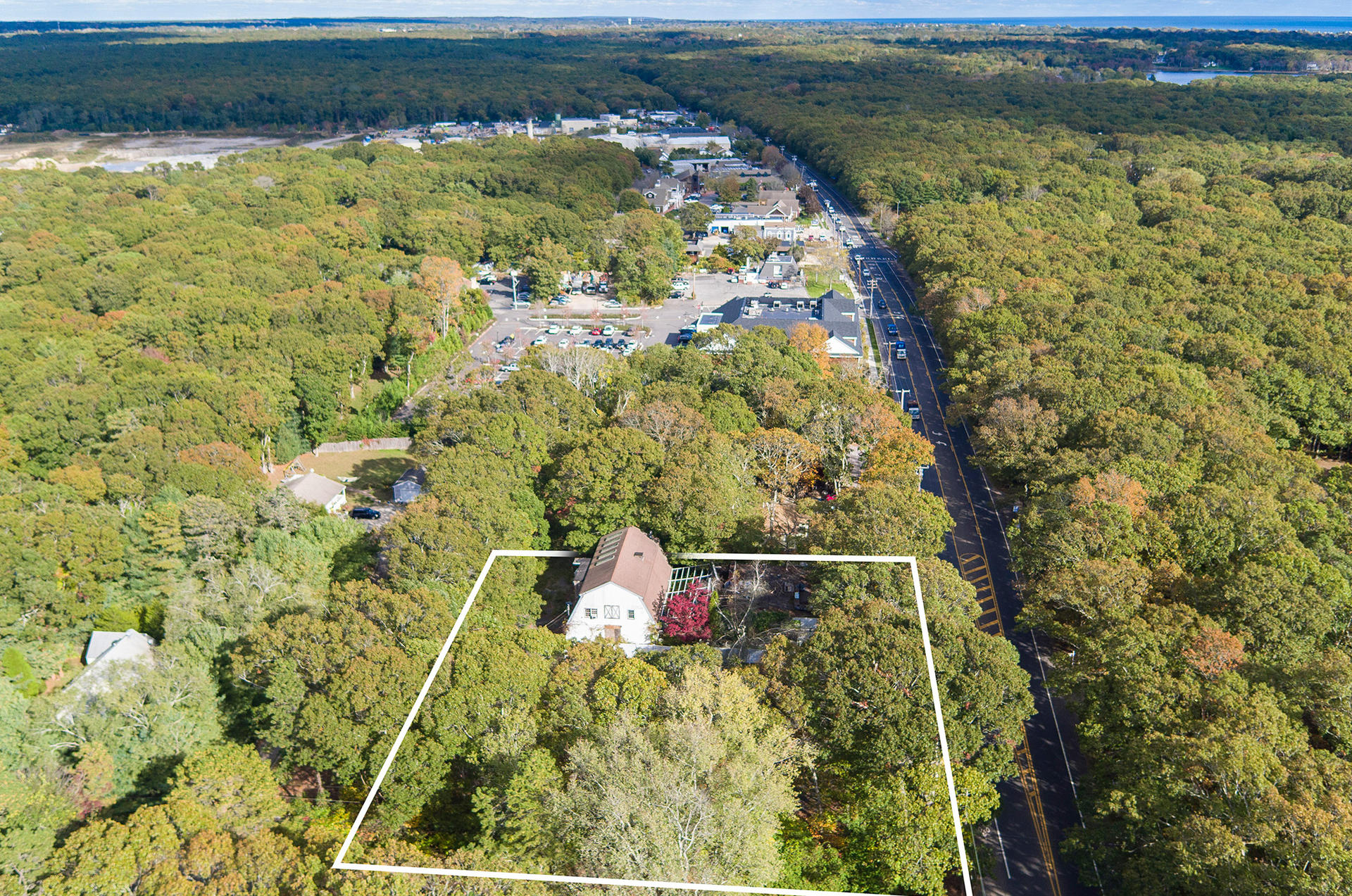 Commercial for Sale at Wainscott Commercial Development Opportunity 378 Montauk Highway, Wainscott, New York