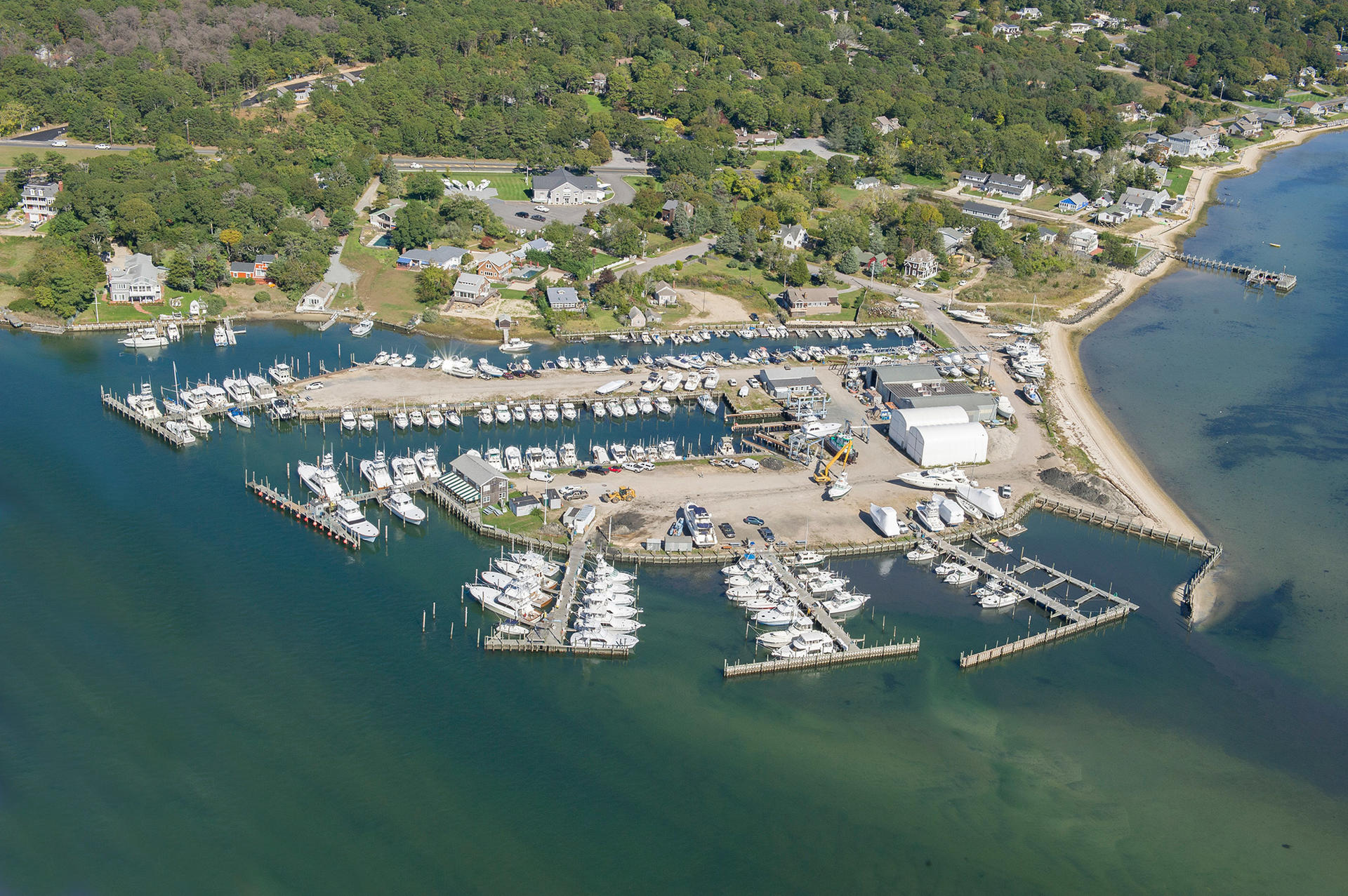 Commercial for Sale at The Top Marina In The Hamptons 6 Tepee Street, Hampton Bays, New York
