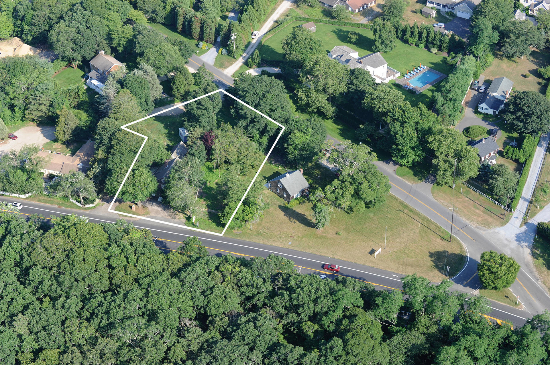 Commercial for Sale at East Hampton- Commercial Property 404 Montauk Highway/49 Skimhampton Road, East Hampton, New York
