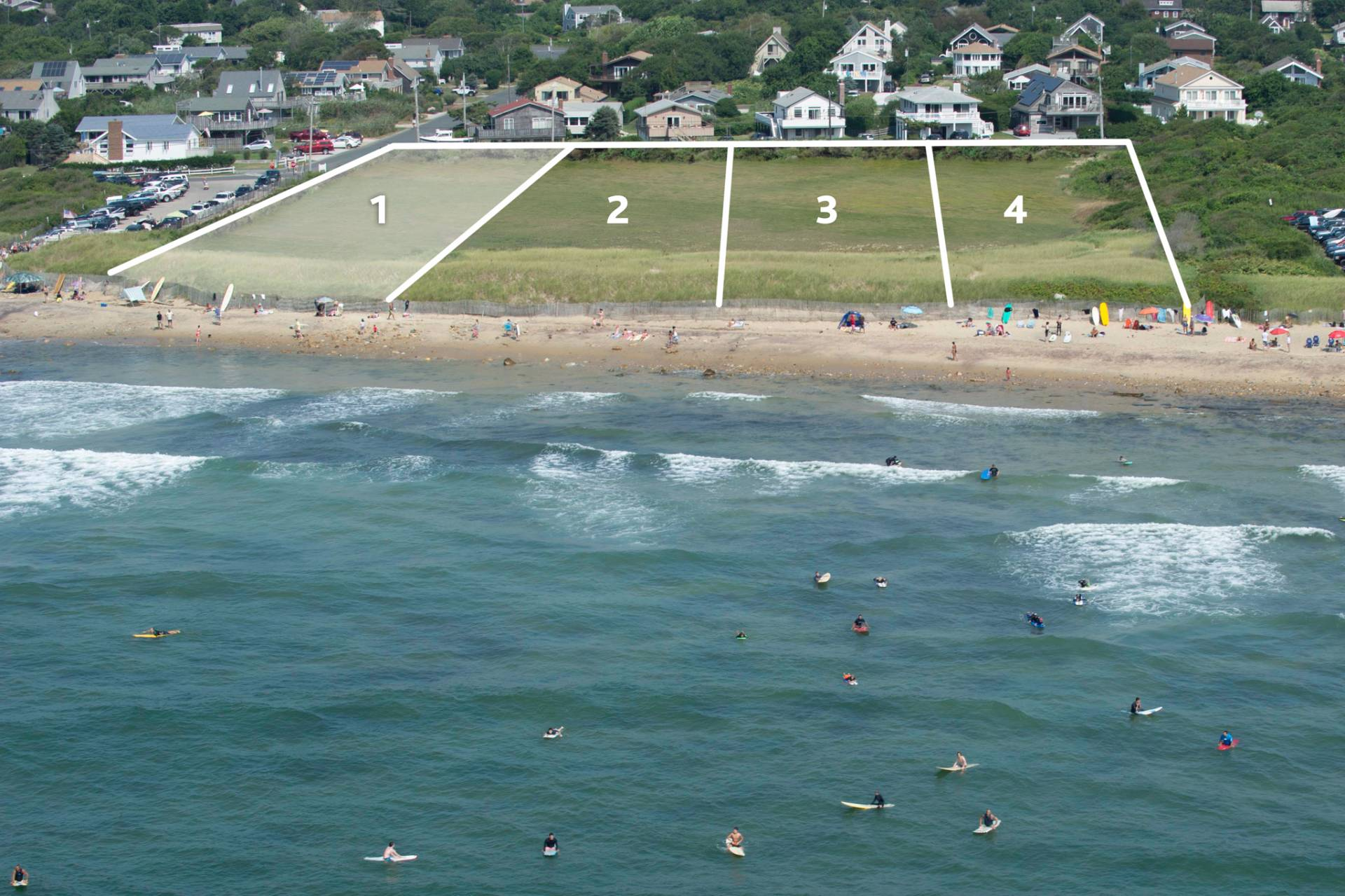 Land for Sale at Montauk: Ditch Plains Beach Home Site Montauk, New York