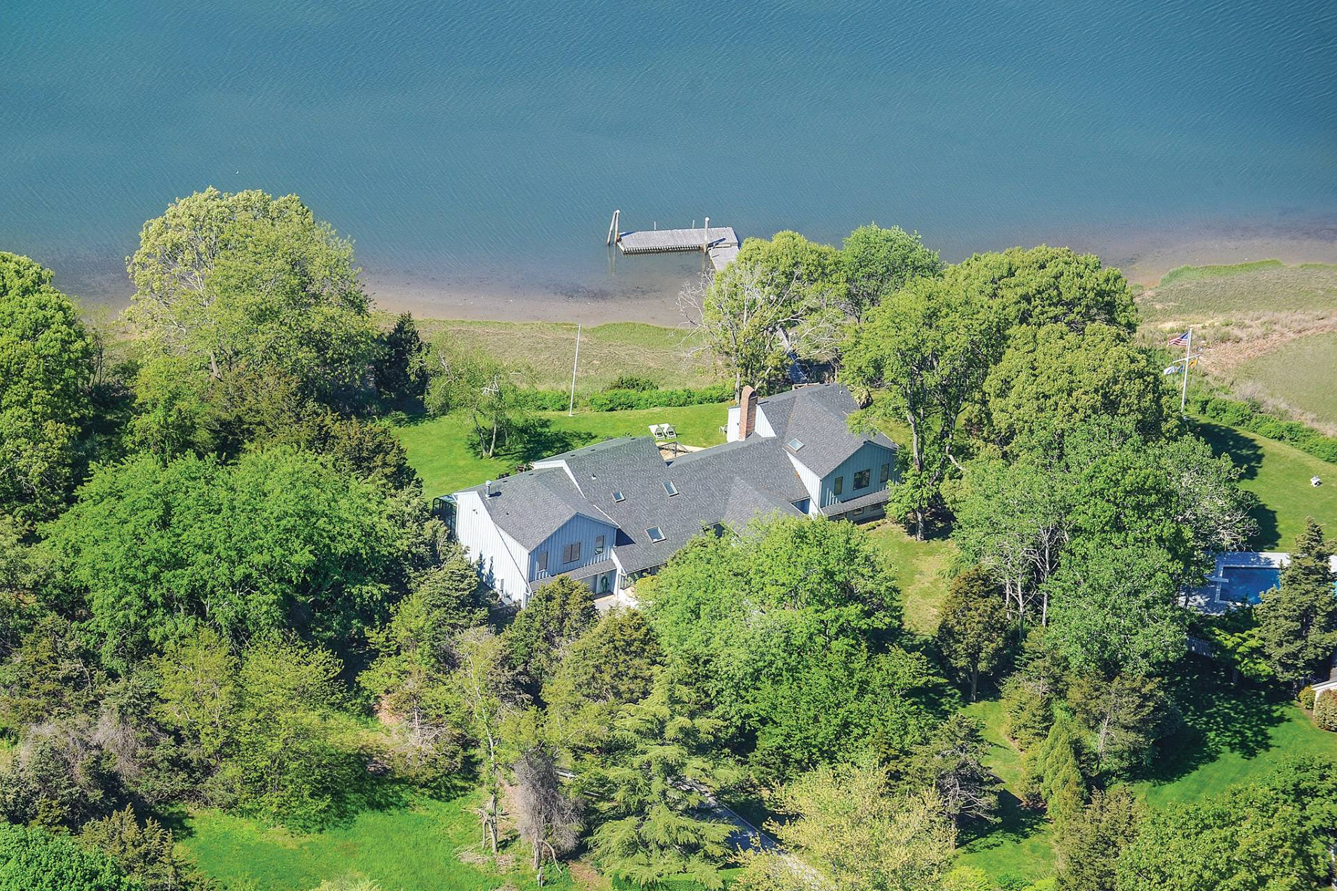 Single Family Home for Sale at Shelter Island Pristine Waterfront With Dock 26 Margarets Drive, Shelter Island, New York