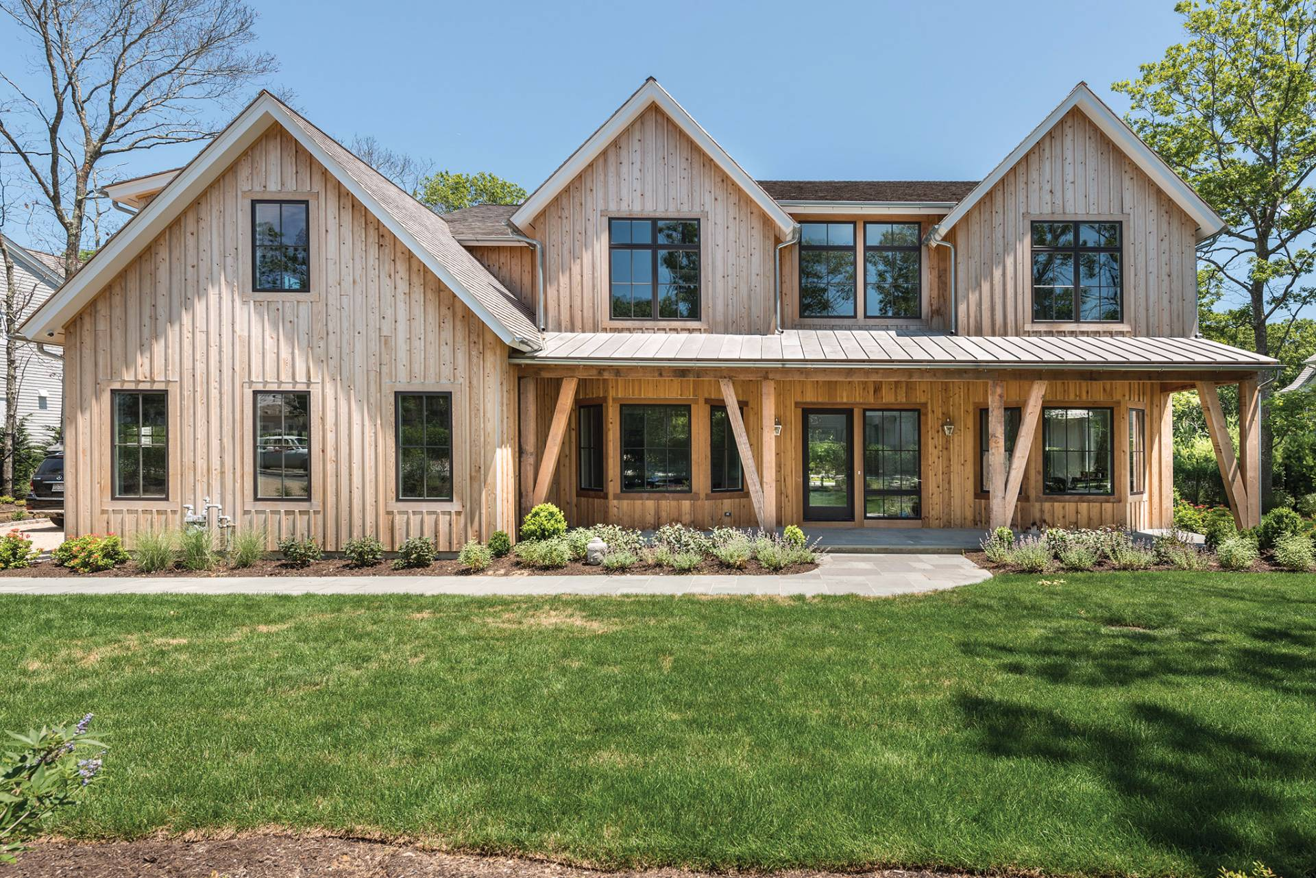 Single Family Home for Sale at The Tuscany Barn. 21st Century Design. Barn & Vine Bridgehampton 23 Barn Lane, (Lot 35, Tuscany Barn), Bridgehampton, New York