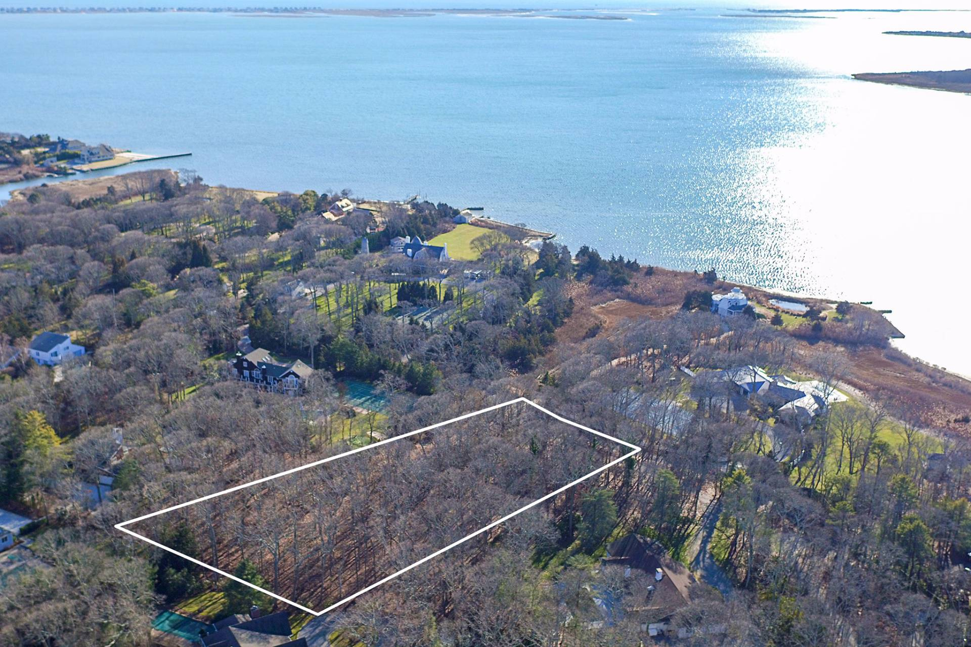 Land for Sale at Build Your Hamptons Dream Home & Enjoy Water Access 49 Cedar Lane West, Remsenburg, New York