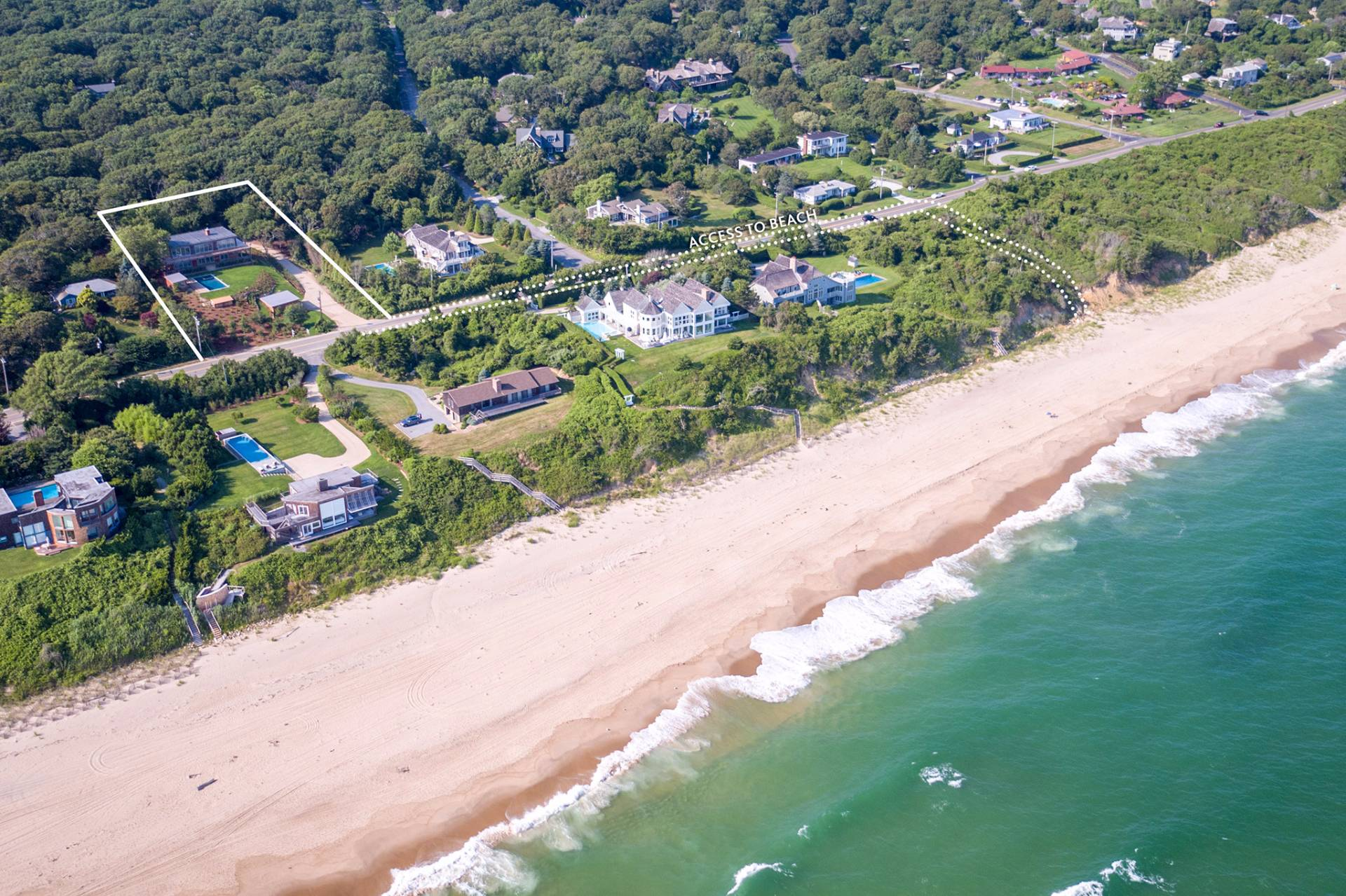 Single Family Home for Sale at New Modern With Incredible Ocean Views 381 Old Montauk Highway, Montauk, New York