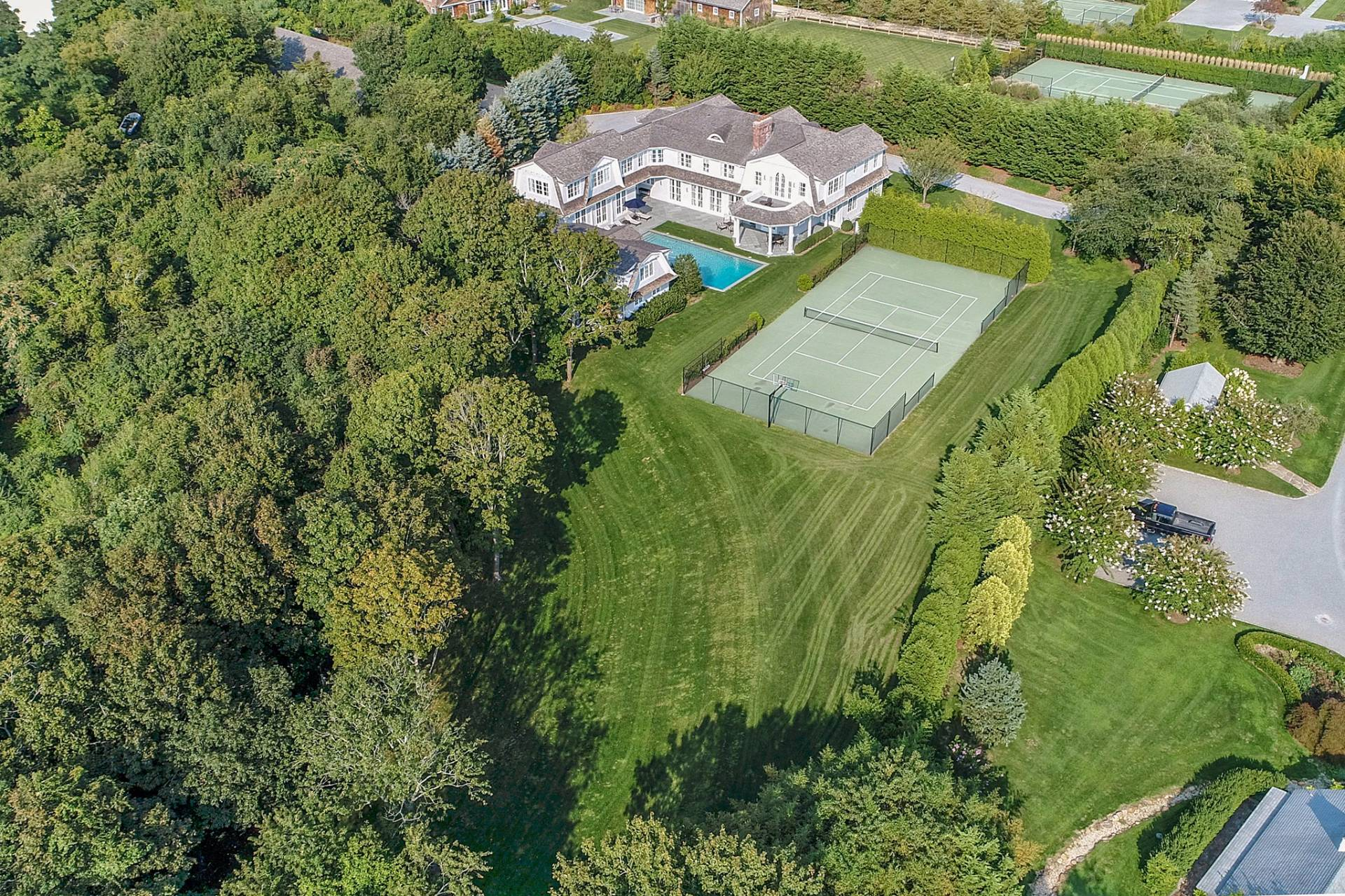 Single Family Home for Sale at Bridgehampton South With Tennis 106 Halsey Lane, Bridgehampton, New York