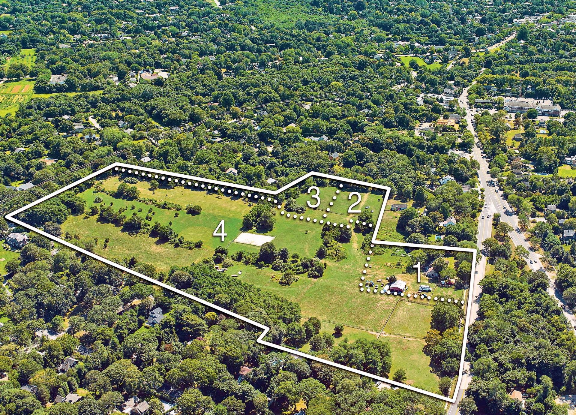 Land for Sale at 20+/- Acres, Many Possibilities 20 Springs Fireplace Road, East Hampton, New York