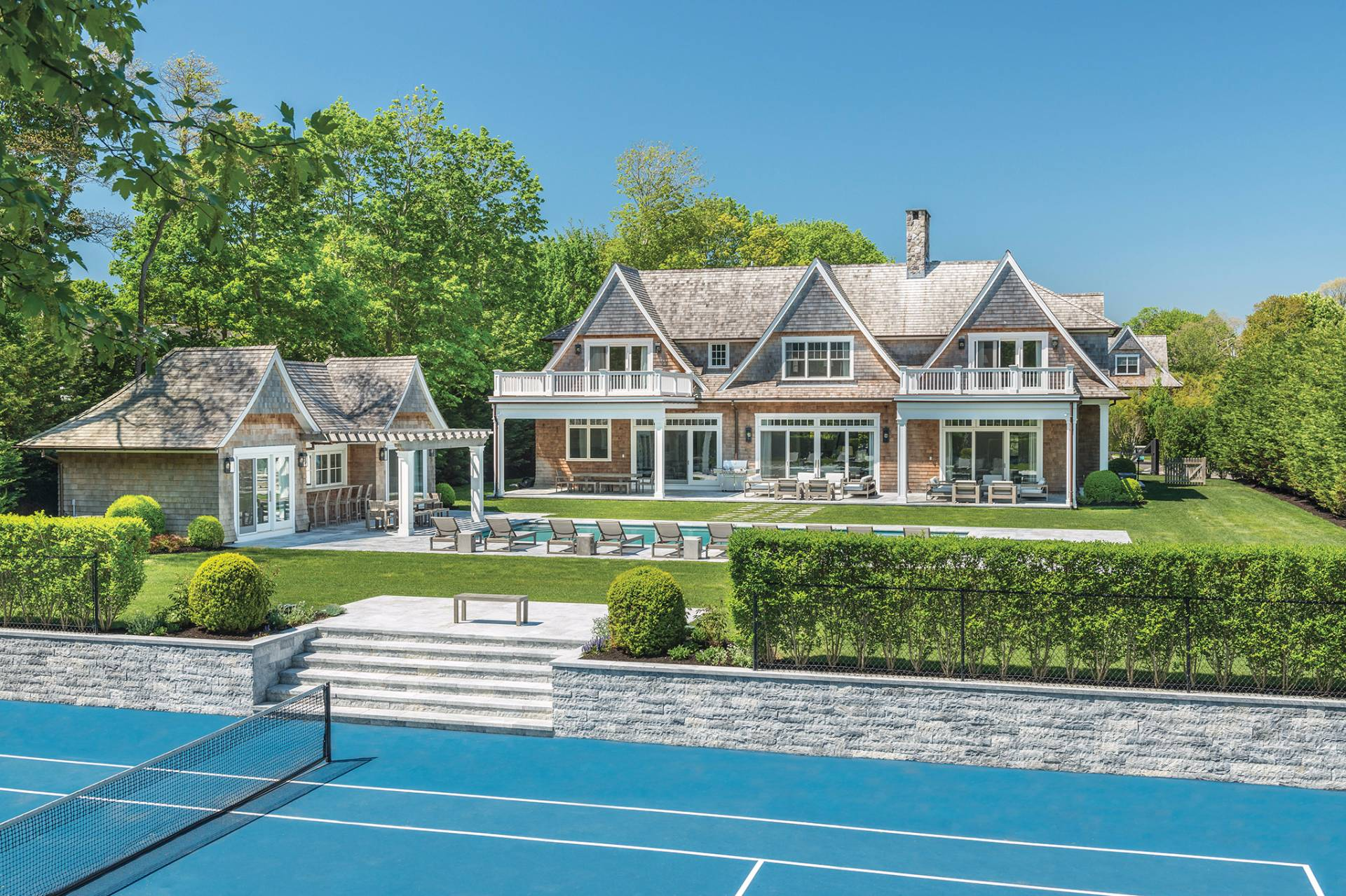 Single Family Home for Sale at Rare Grand Village Estate Moments To Town And Beaches 3 Sayres Court, Bridgehampton, New York