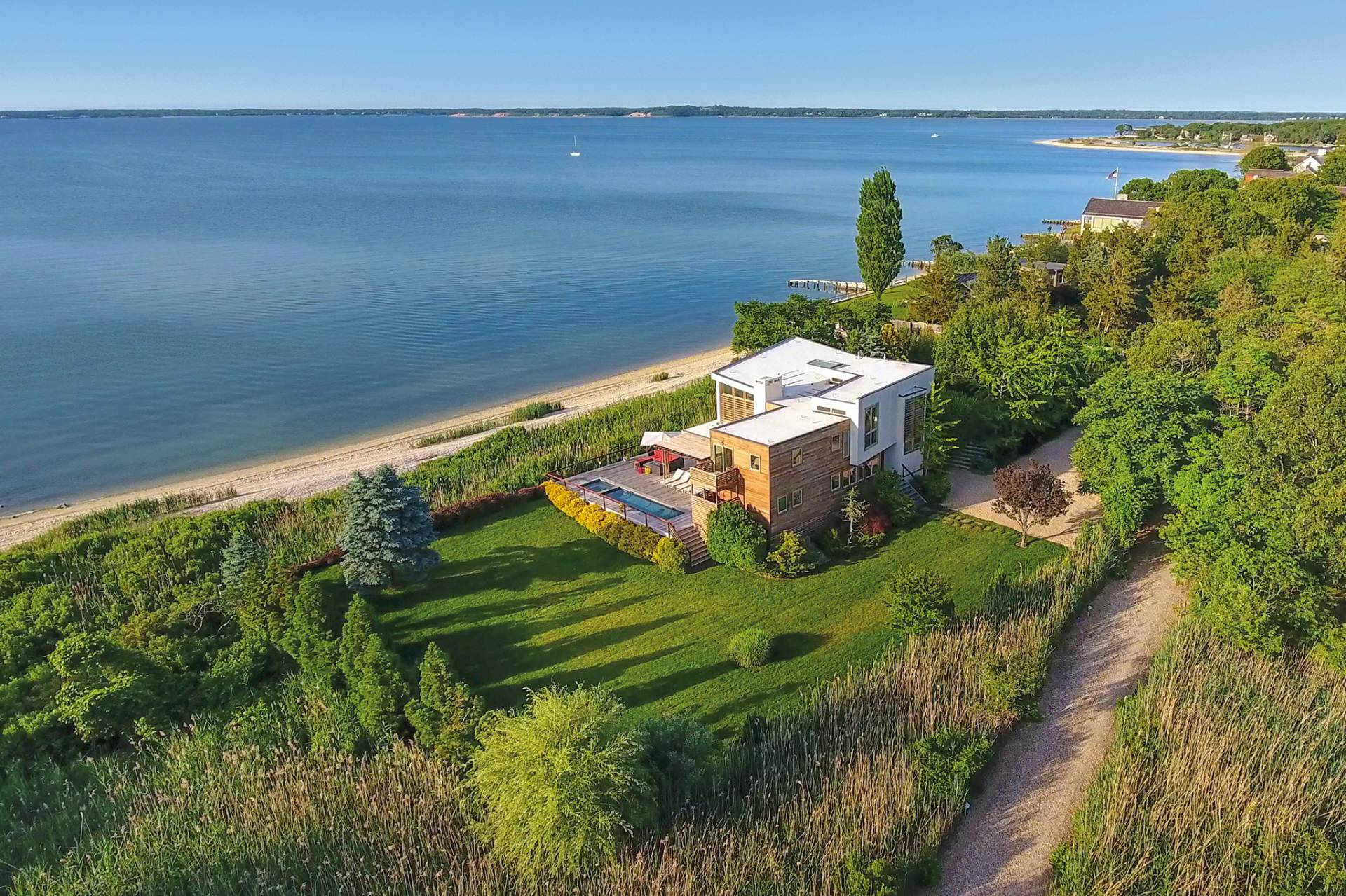 Single Family Home for Sale at Unmatched And Unparalleled Waterfront 78 Noyack Bay Avenue, Sag Harbor, New York