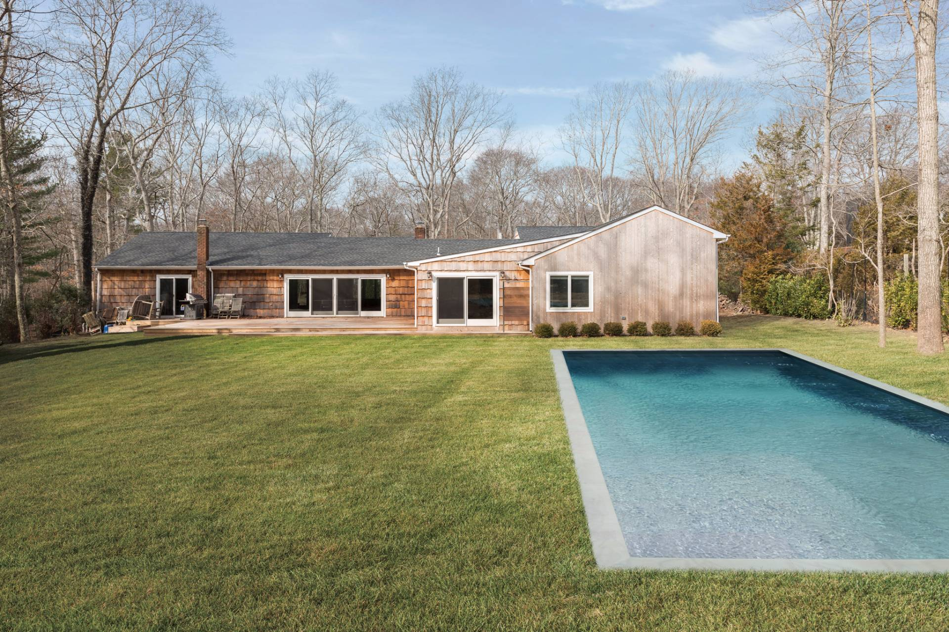 Additional photo for property listing at Modern And Sleek In East Hampton  东汉普顿, 纽约州