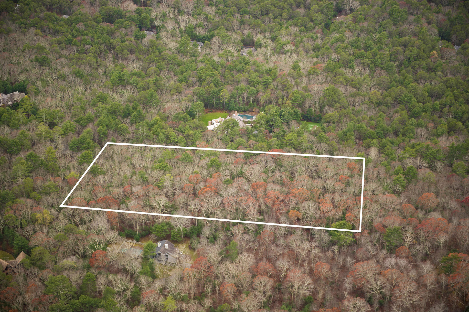 Land for Sale at East Hampton- Ultimate Privacy 50 Northwest Road, East Hampton, New York