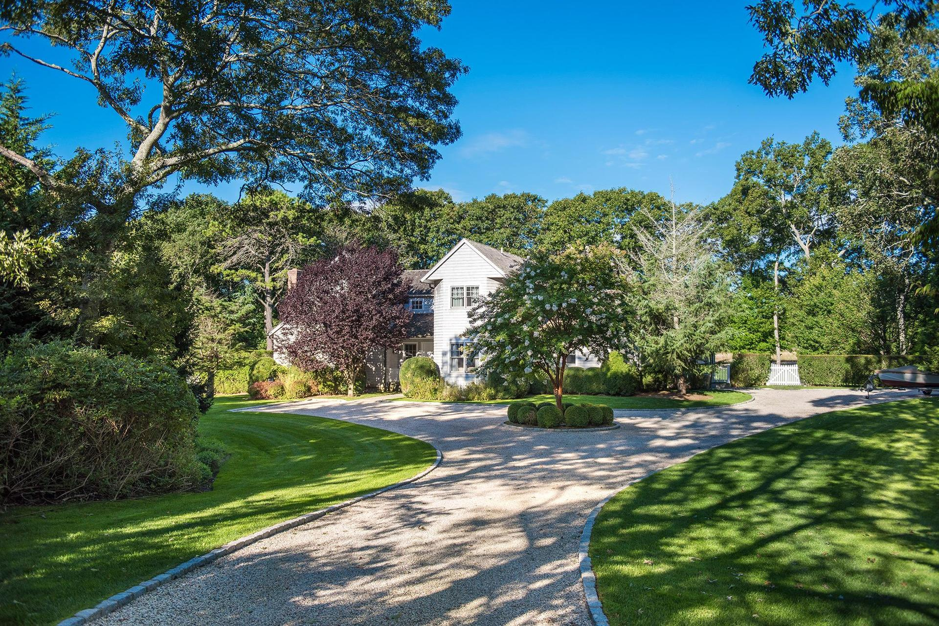 Single Family Home for Sale at House Beautiful 14 Clover Leaf Lane, East Hampton, New York