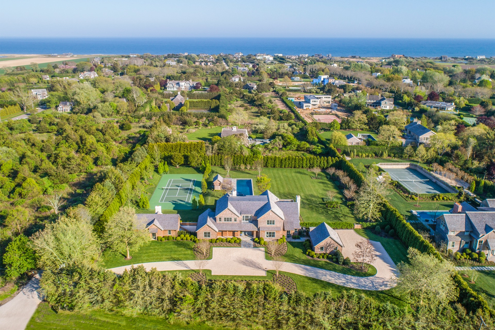 Single Family Home for Sale at Exquisite New Estate In Sagaponack South 675 Hedges Lane, Sagaponack, New York