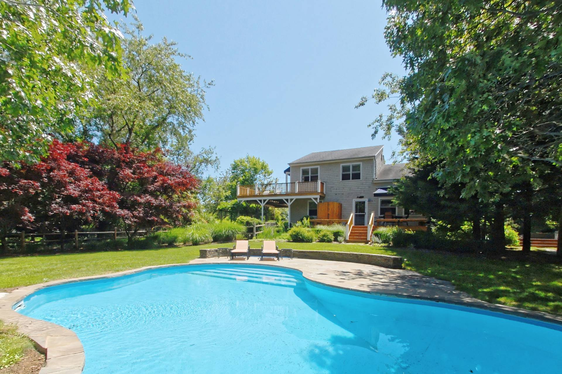 Single Family Home for Sale at Shelter Island Contemporary With Pool Close To Beach 51 Westmoreland Drive, Shelter Island, New York