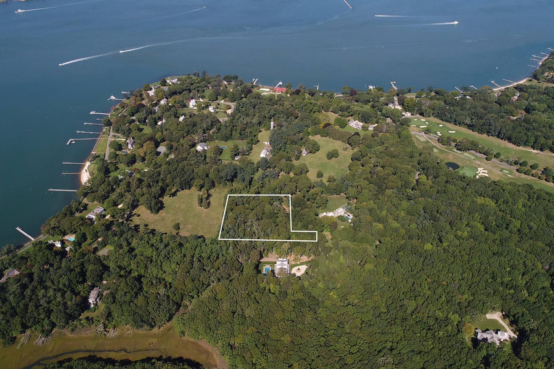Land for Sale at Shelter Island Pristine Estate Acreage 3 Dering Woods Lane, Shelter Island, New York