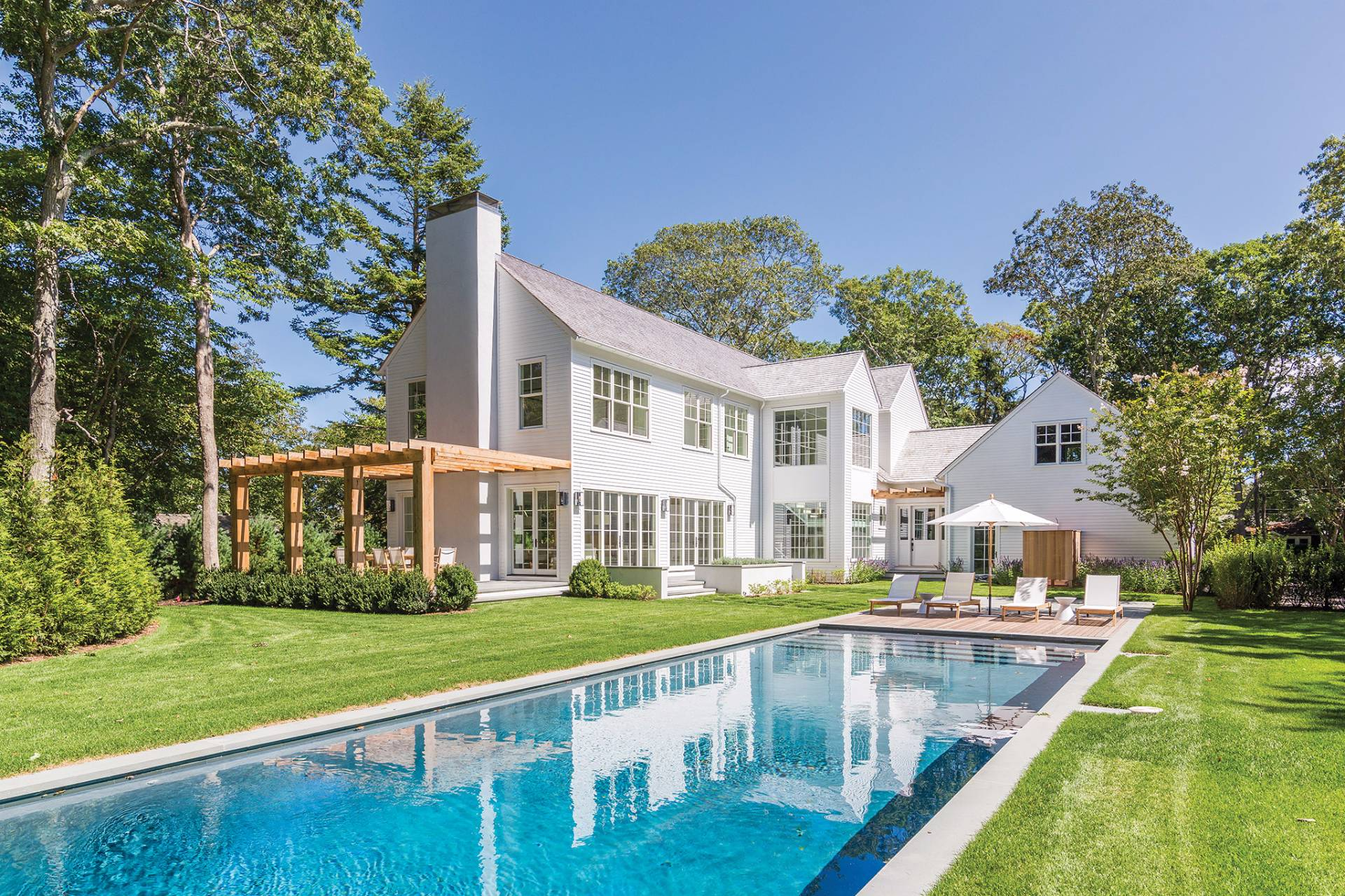 Single Family Home for Sale at Timeless Elegance- Eh Village Fringe 51 Miller Lane West, East Hampton, New York