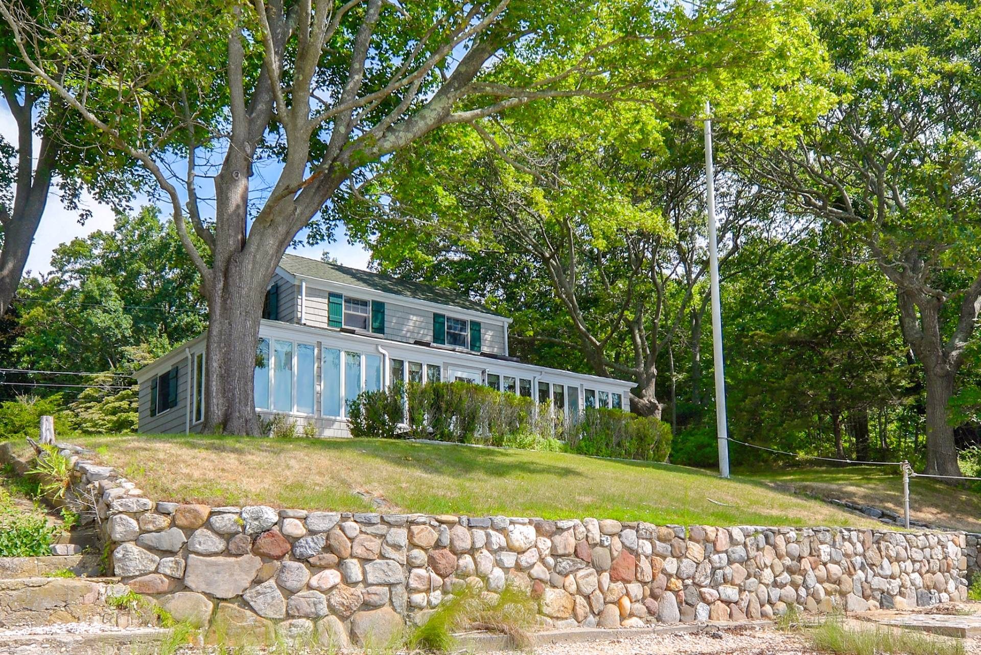 Single Family Home for Sale at Shelter Island Harborfront Cape With Guest House 58 Tuthill Drive + 43, 45, 64 Myrtle Road, Shelter Island, New York